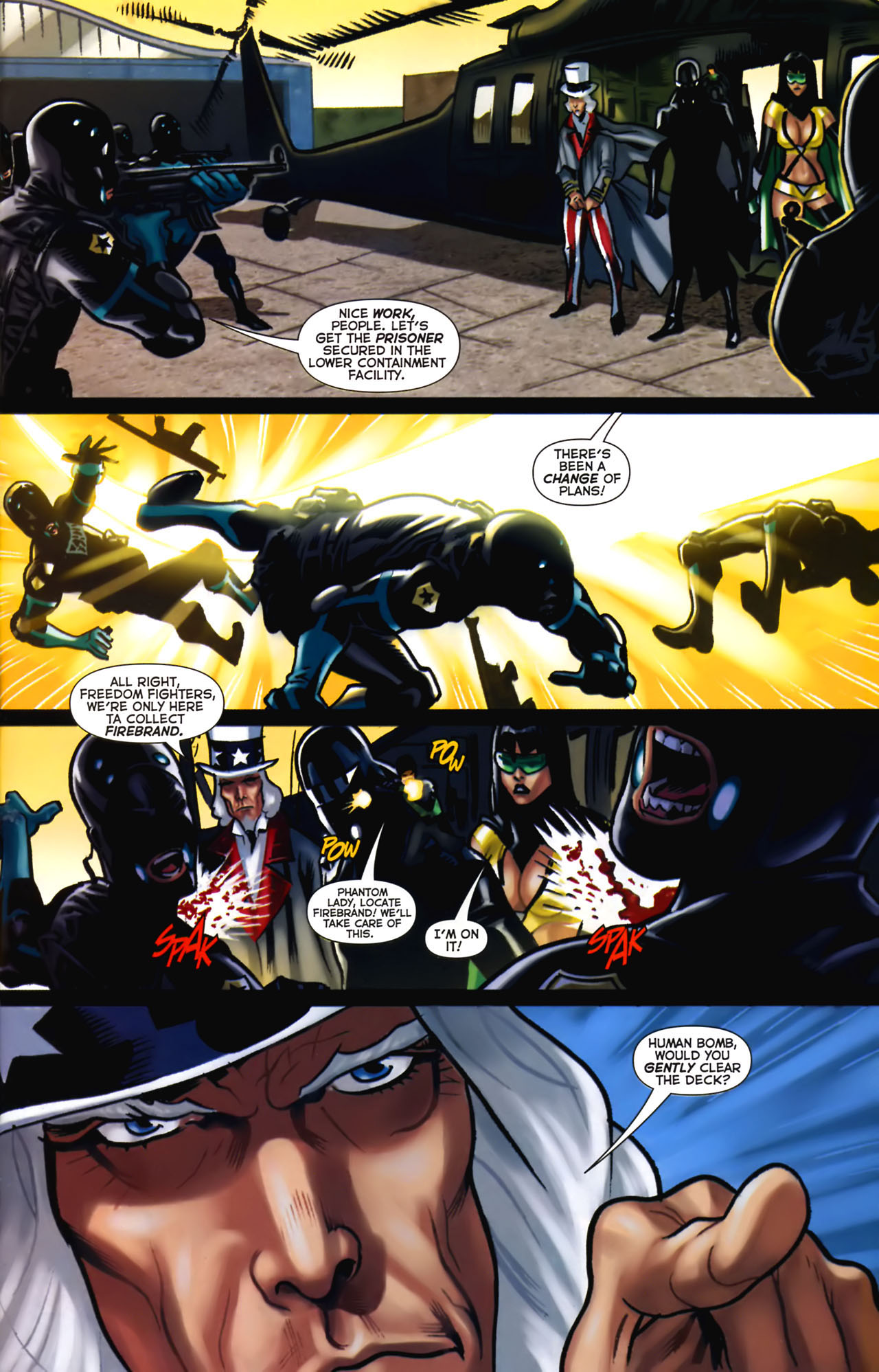 Read online Uncle Sam and the Freedom Fighters (2006) comic -  Issue #2 - 14