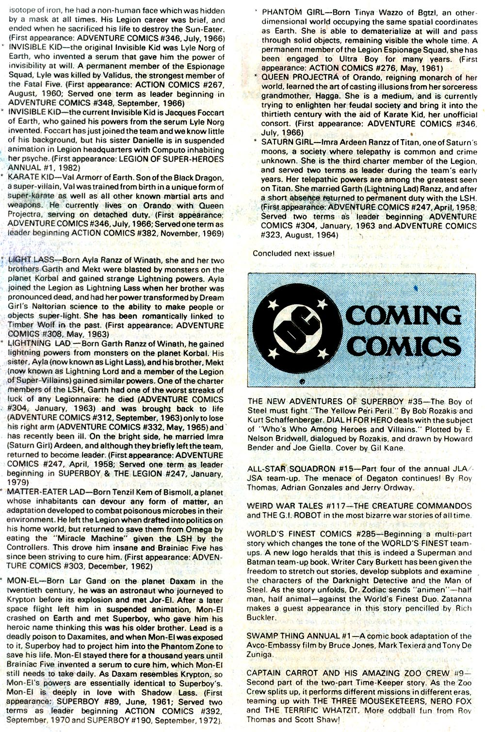 Legion of Super-Heroes (1980) 293 Page 25