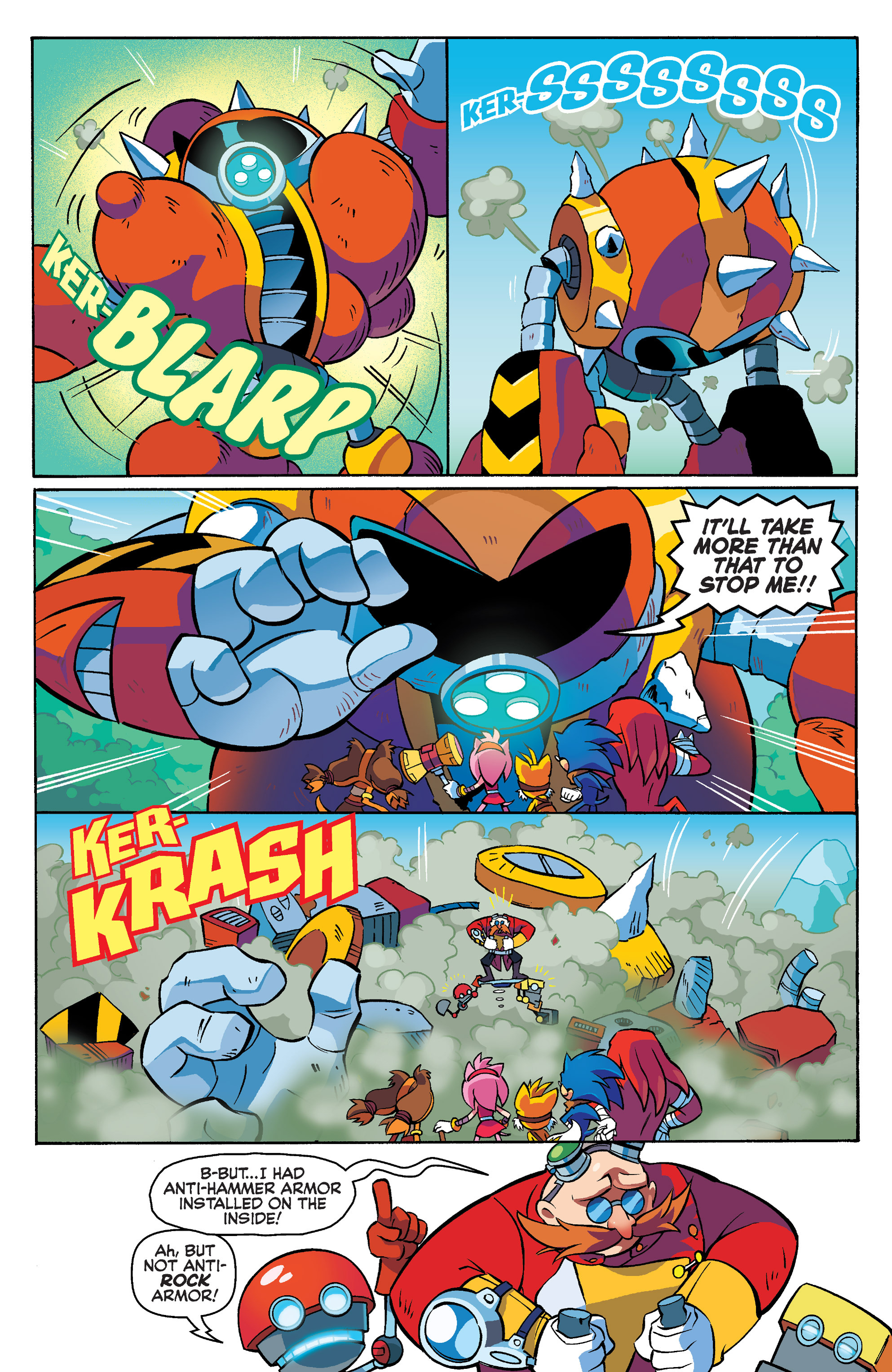 Read online Sonic Boom comic -  Issue #4 - 16
