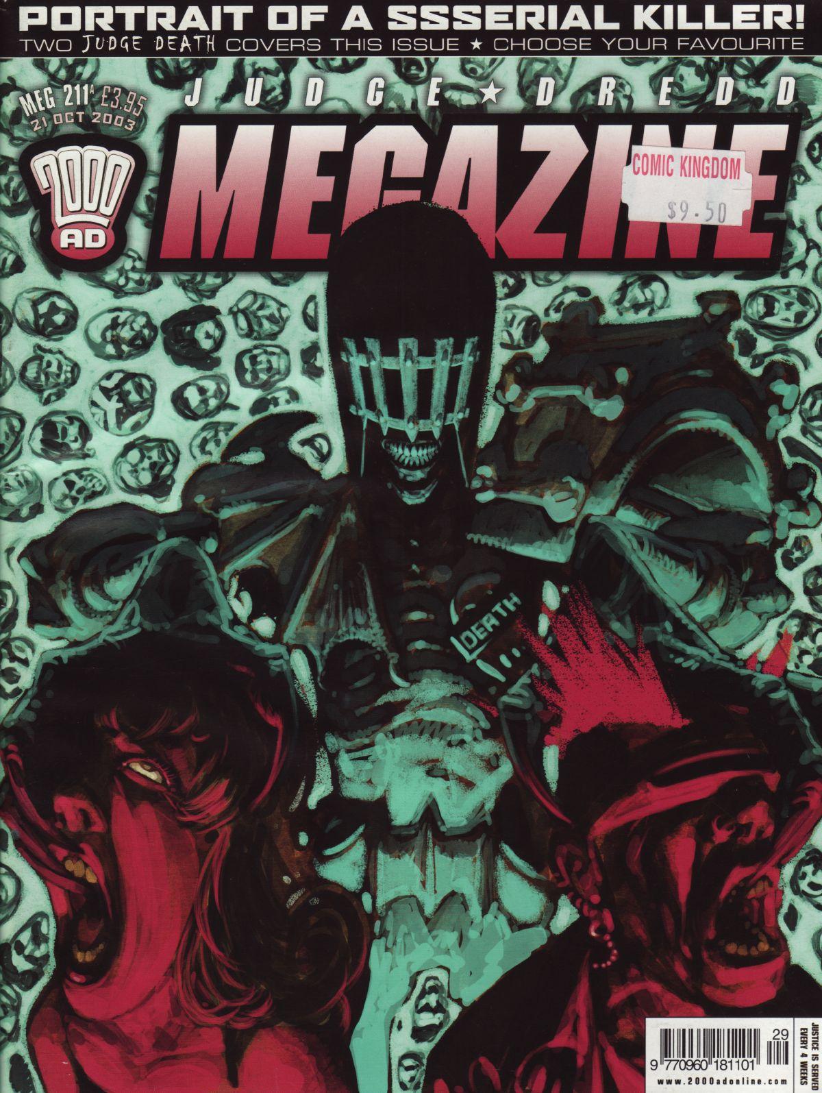 Judge Dredd Megazine (Vol. 5) 211 Page 1