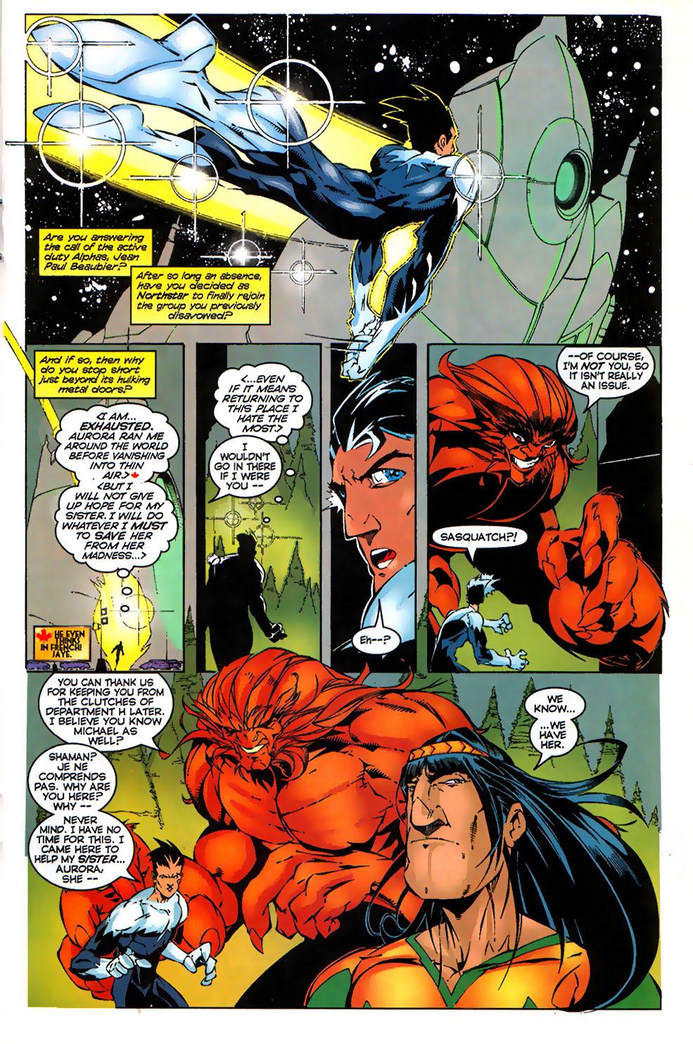 Read online Alpha Flight (1997) comic -  Issue #17 - 11