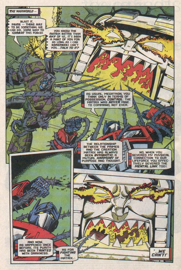 Read online Transformers: Generation 2 comic -  Issue #11 - 8