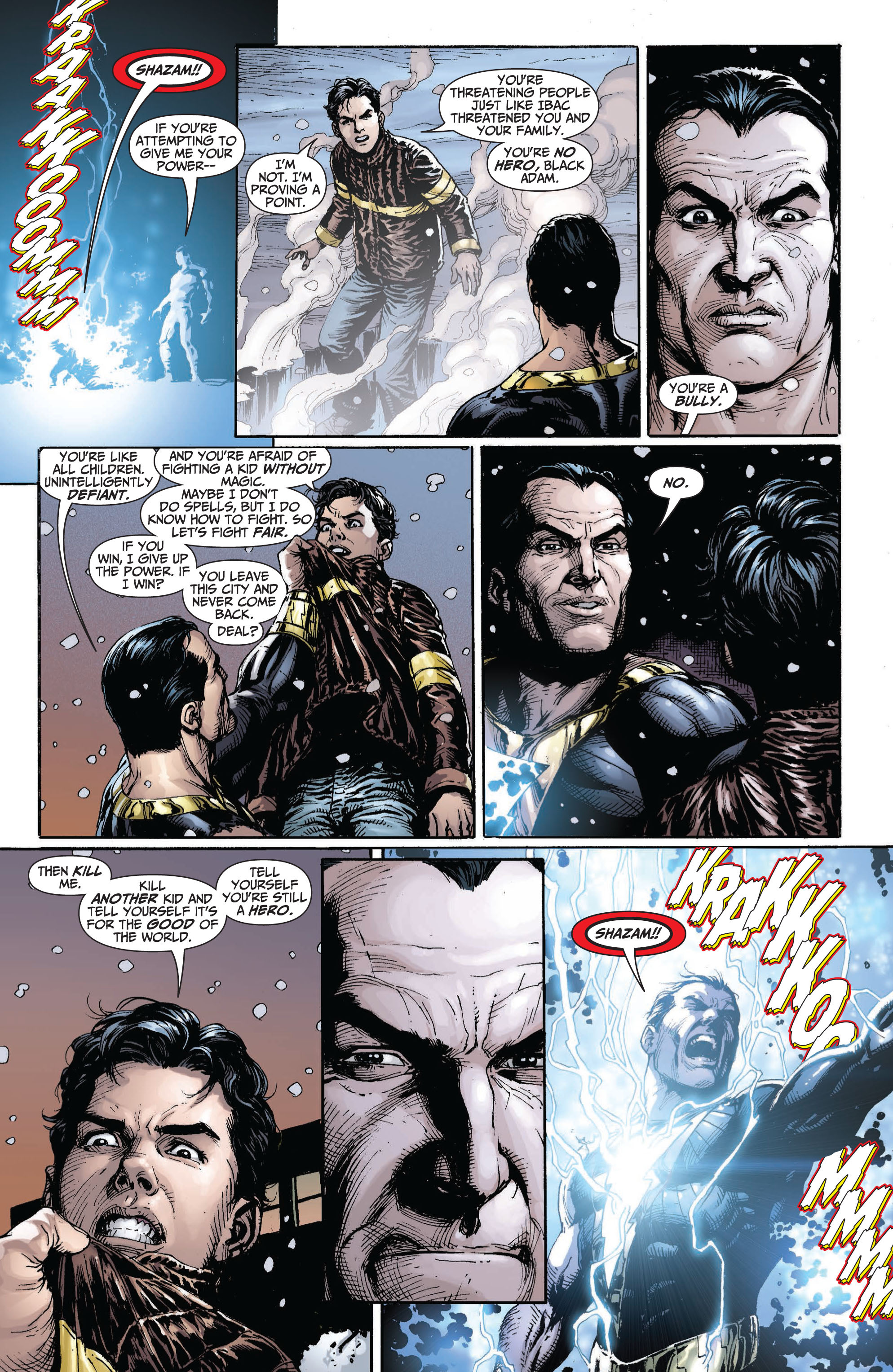 Read online Shazam! (2013) comic -  Issue #1 - 170