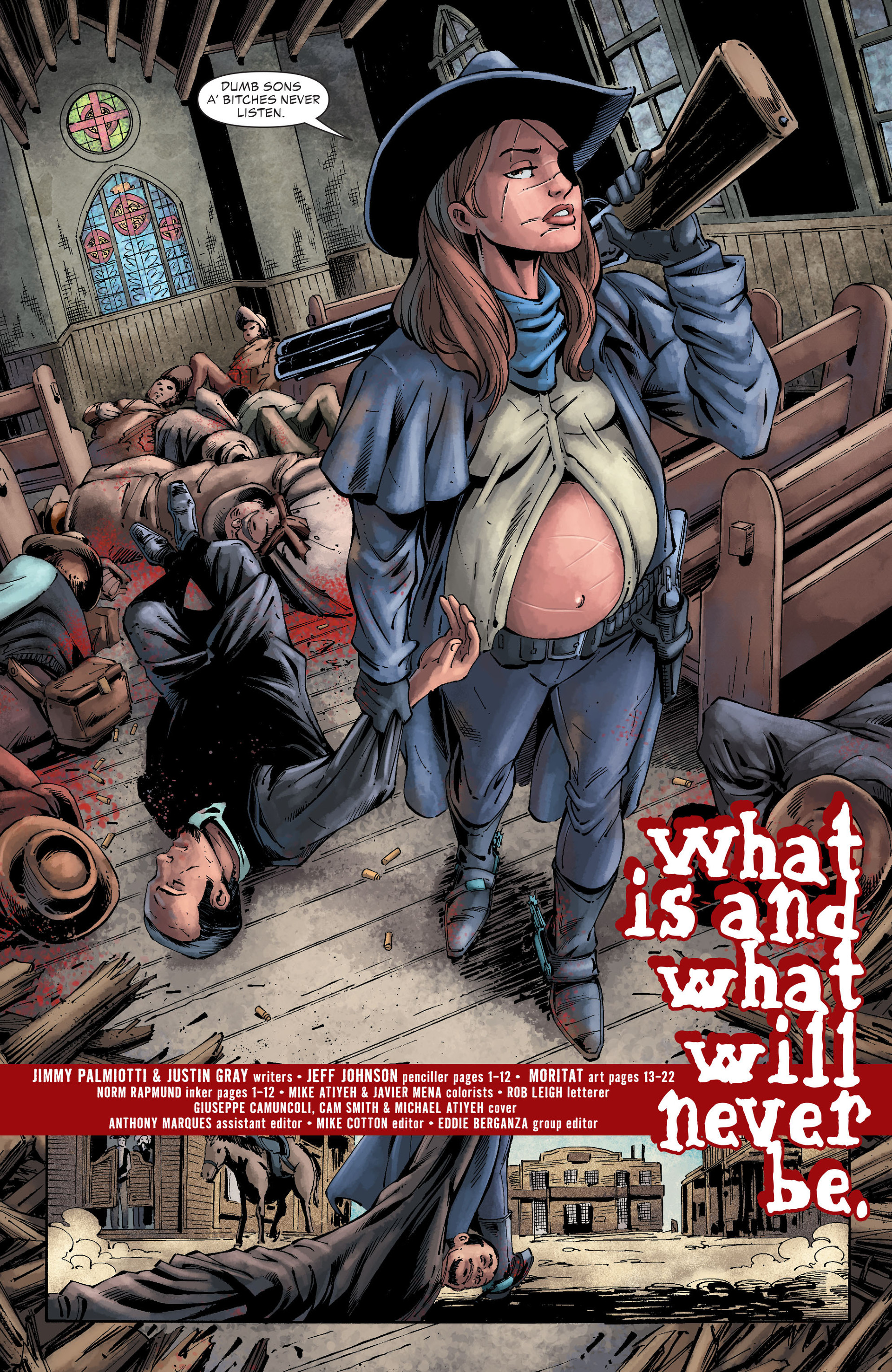 Read online All-Star Western (2011) comic -  Issue #26 - 4