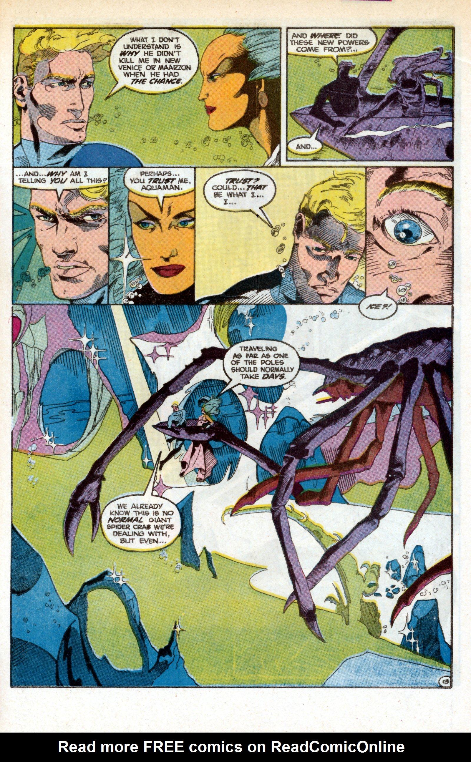 Read online Aquaman (1986) comic -  Issue #3 - 22