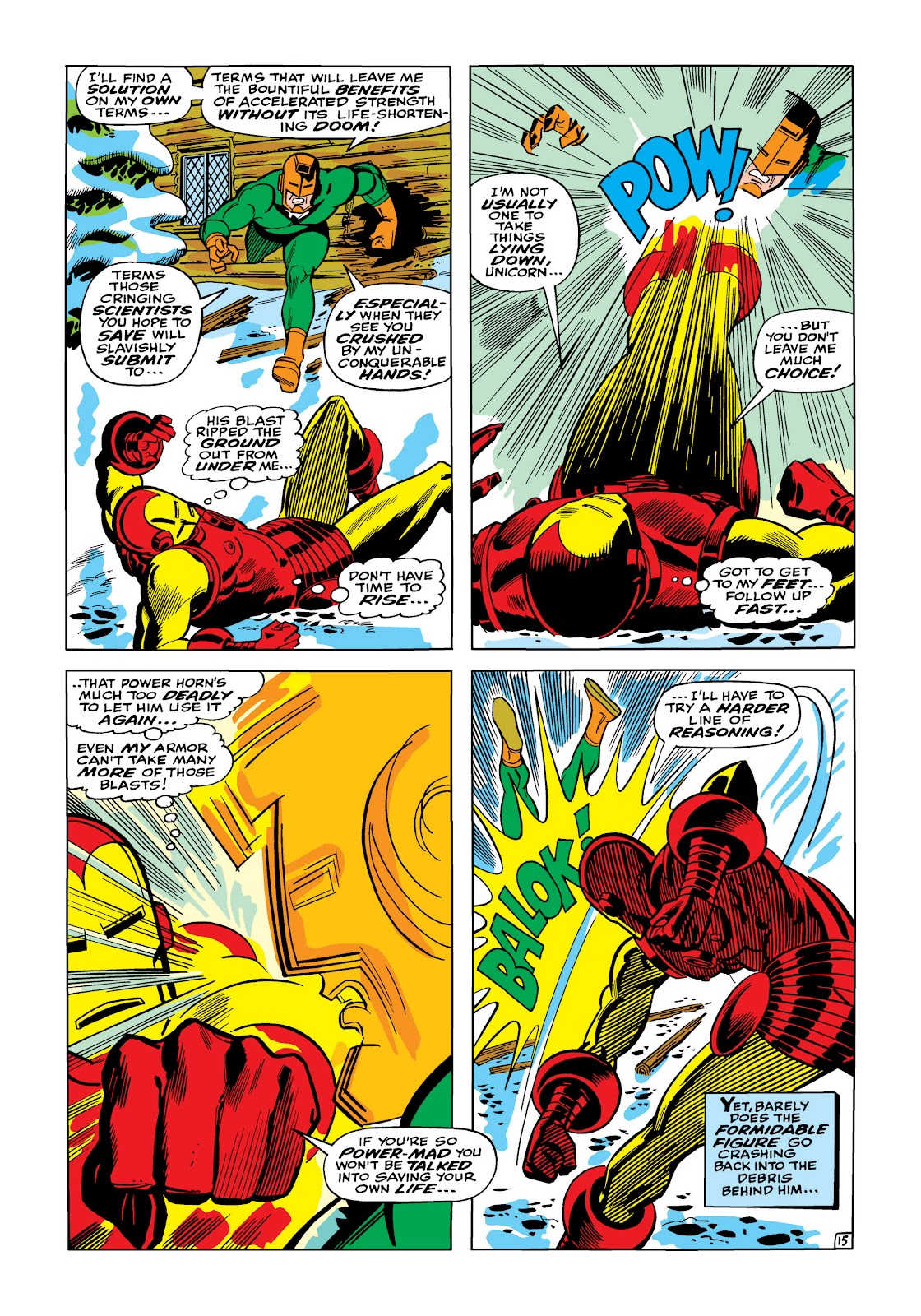 Read online Marvel Masterworks: The Invincible Iron Man comic -  Issue # TPB 5 (Part 1) - 64