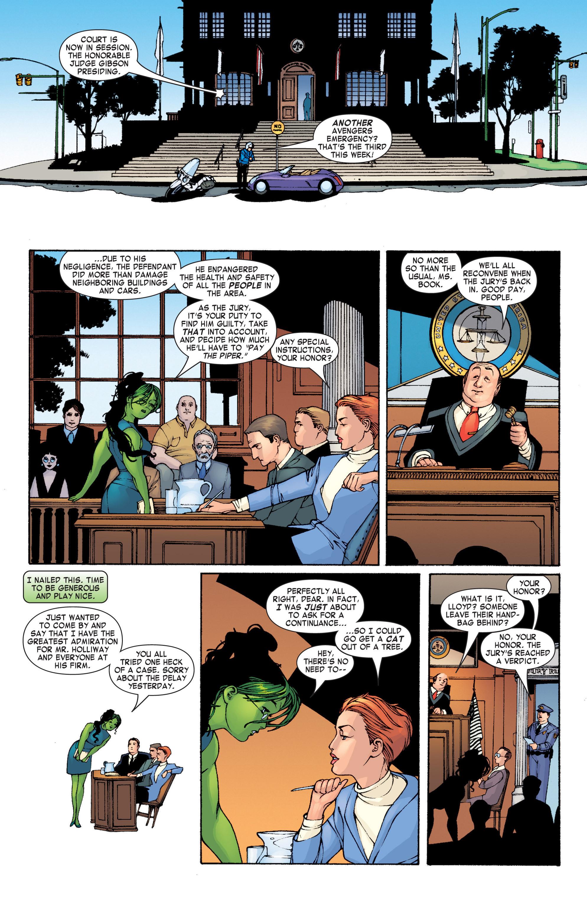 Read online She-Hulk (2004) comic -  Issue #1 - 13