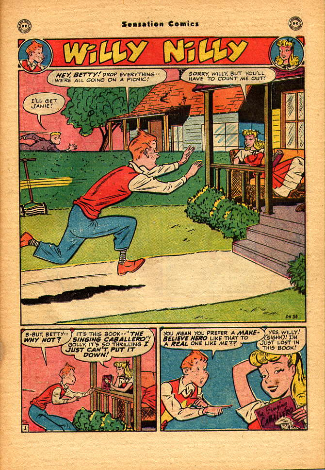 Read online Sensation (Mystery) Comics comic -  Issue #83 - 31