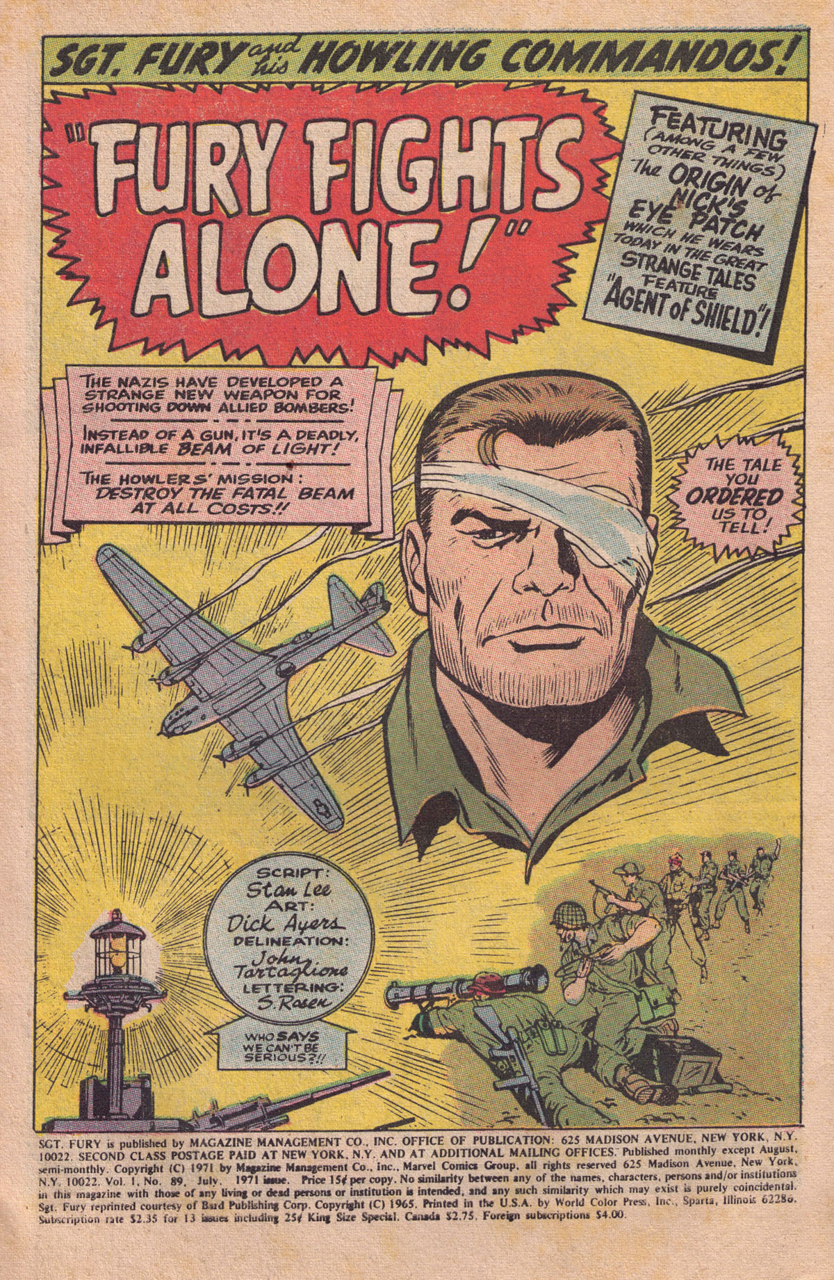 Read online Sgt. Fury comic -  Issue #89 - 3