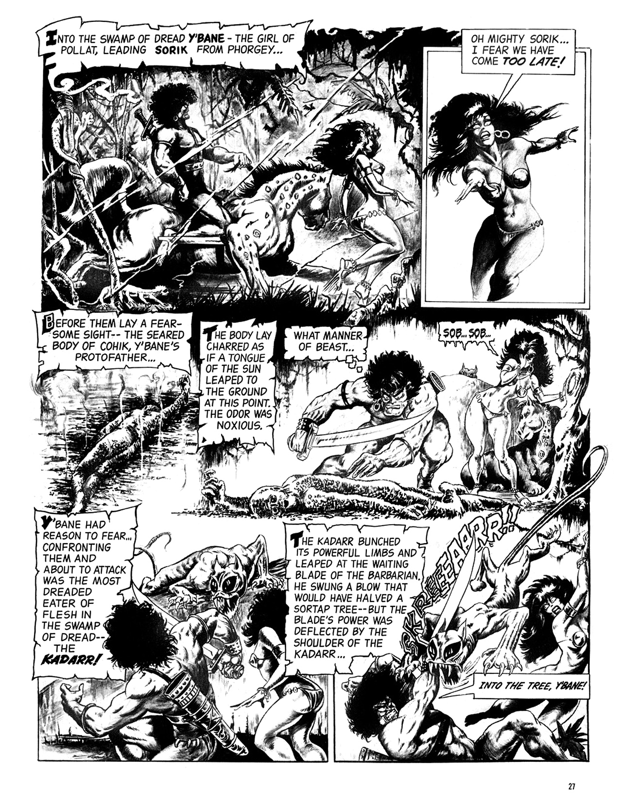 Read online Eerie Archives comic -  Issue # TPB 6 - 28