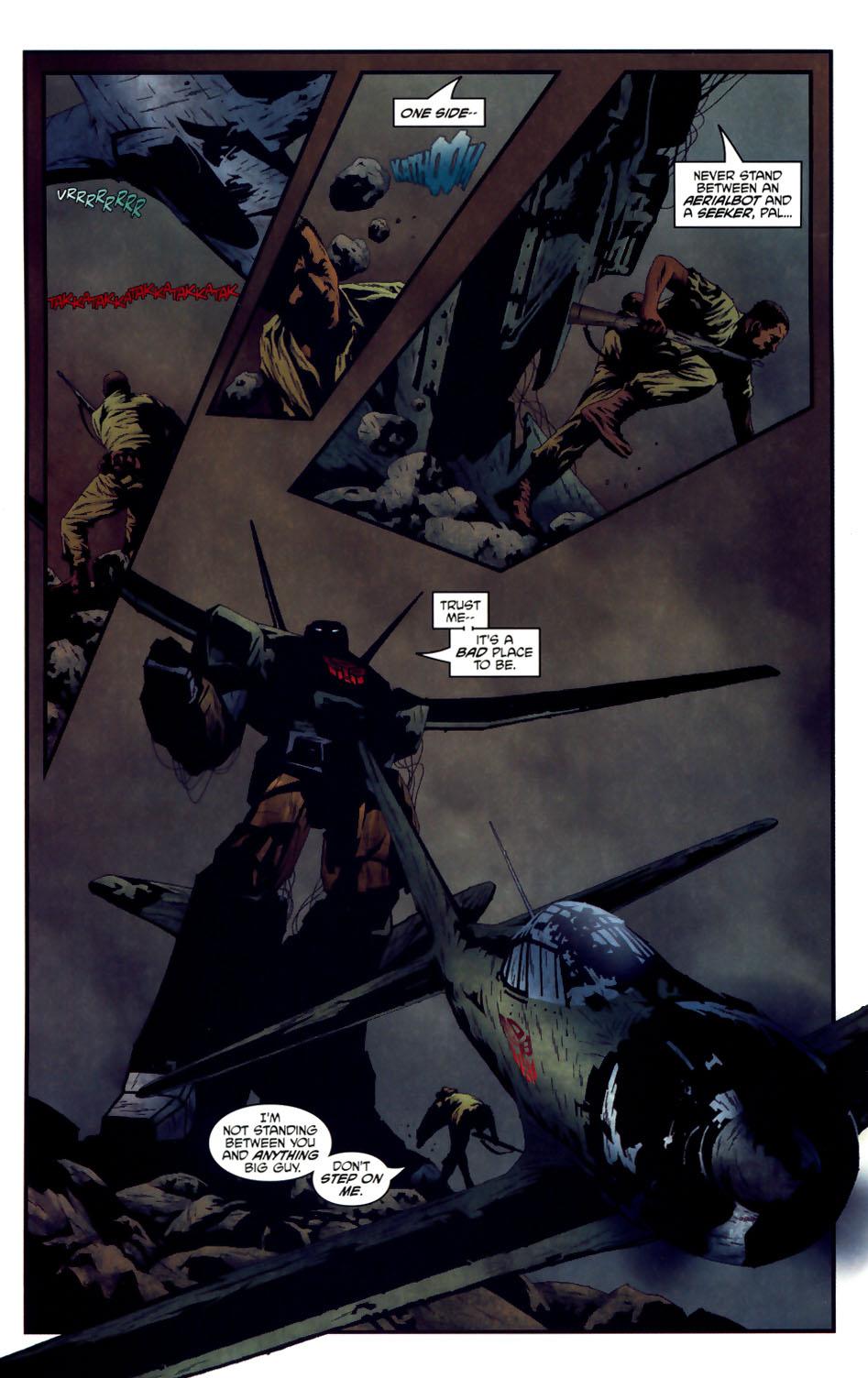 Read online Transformers/G.I. Joe comic -  Issue #3 - 7
