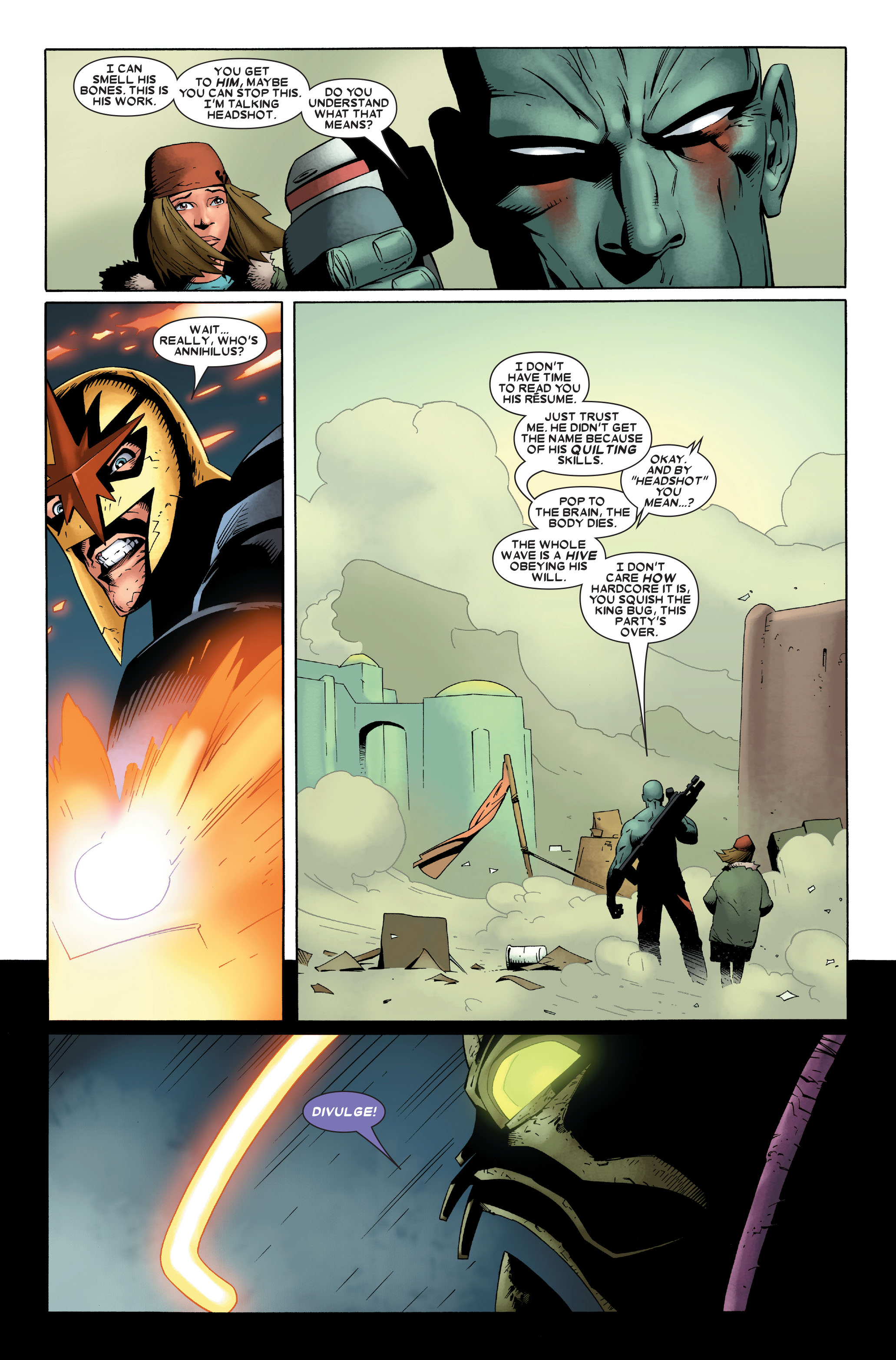 Read online Annihilation: Nova comic -  Issue #4 - 12