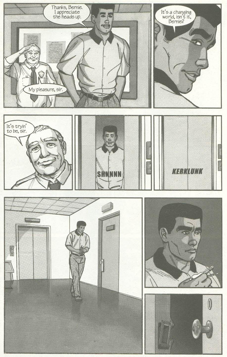Read online U.S. War Machine comic -  Issue #2 - 11