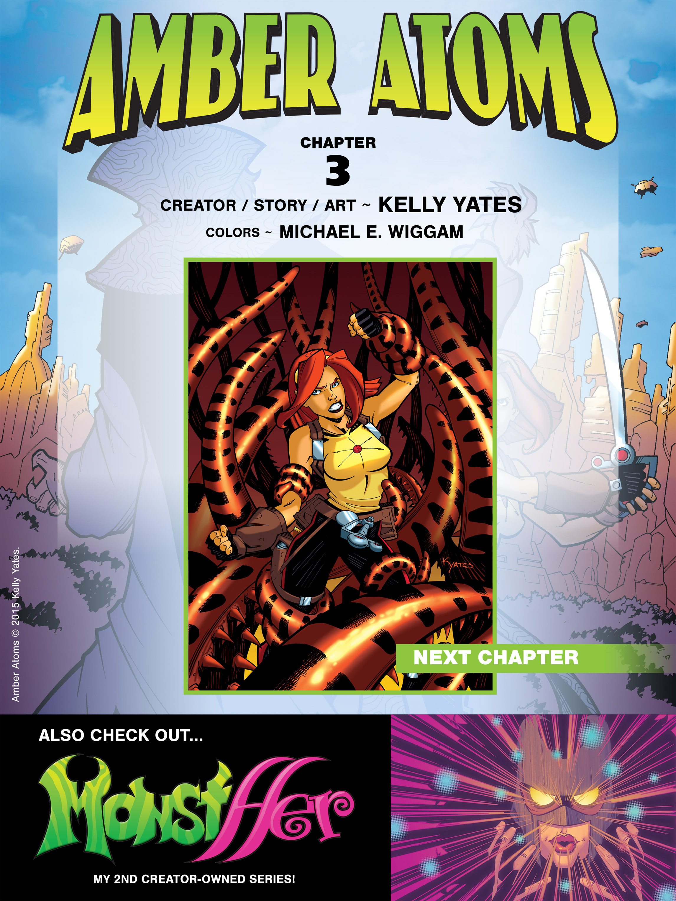 Read online Amber Atoms comic -  Issue #3 - 24