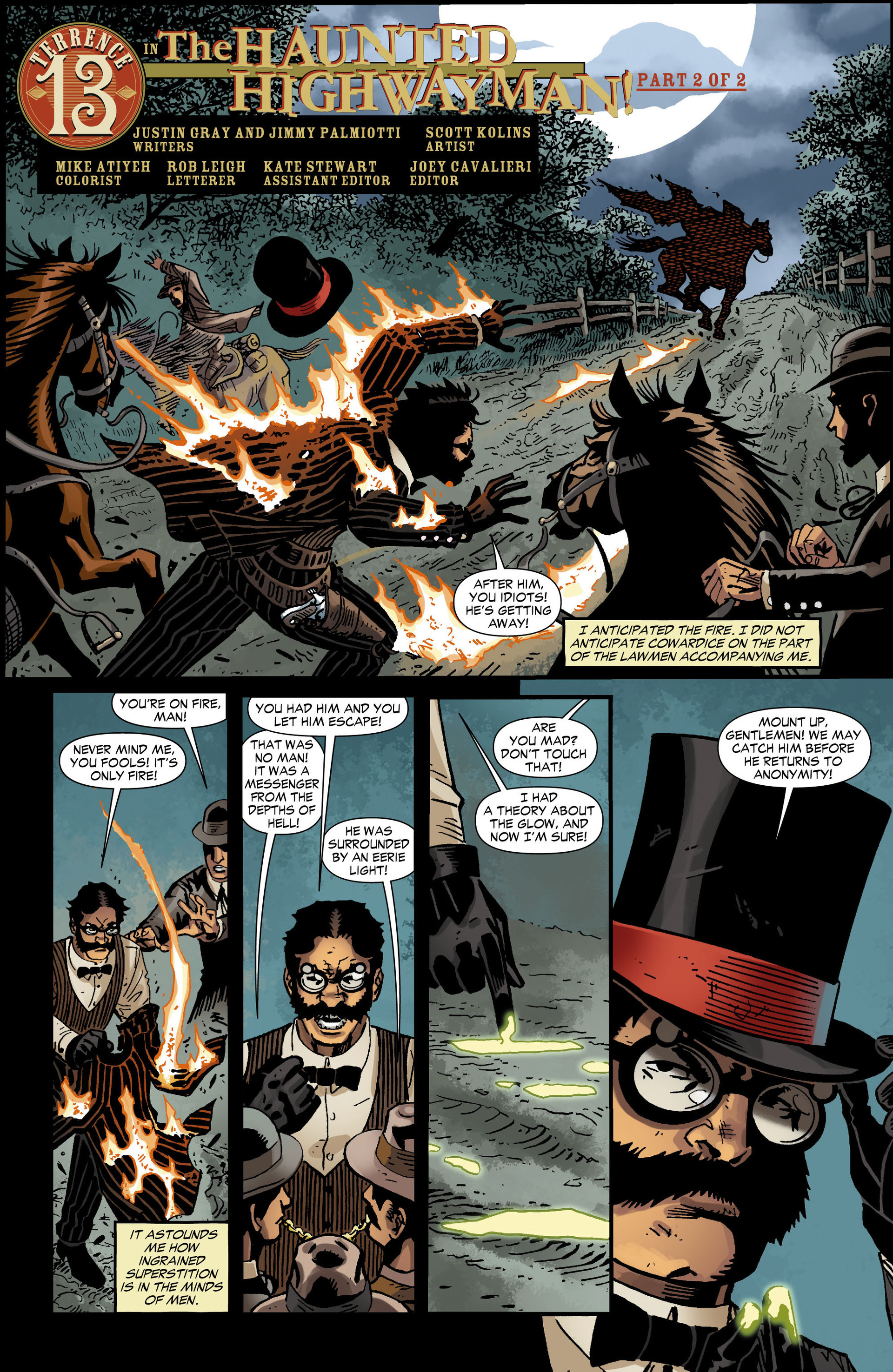 Read online All-Star Western (2011) comic -  Issue #12 - 22