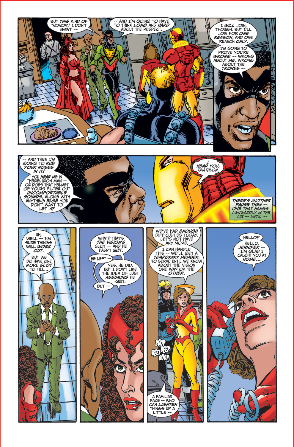 Read online Avengers (1998) comic -  Issue #27 - 20