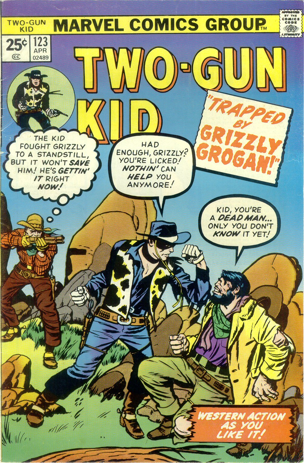 Read online Two-Gun Kid comic -  Issue #123 - 1