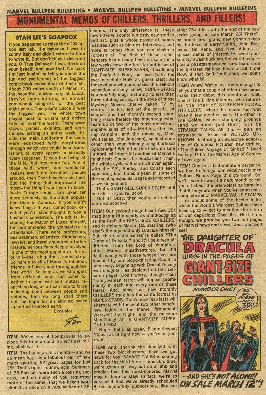 Read online Astonishing Tales (1970) comic -  Issue #24 - 14