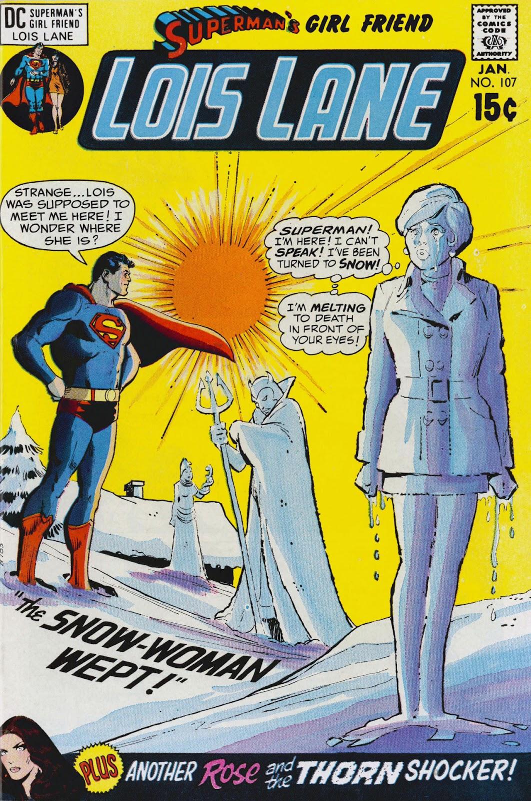 Supermans Girl Friend, Lois Lane 107 Page 1