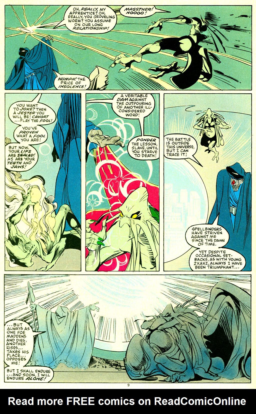 Read online Spellbound comic -  Issue #6 - 10