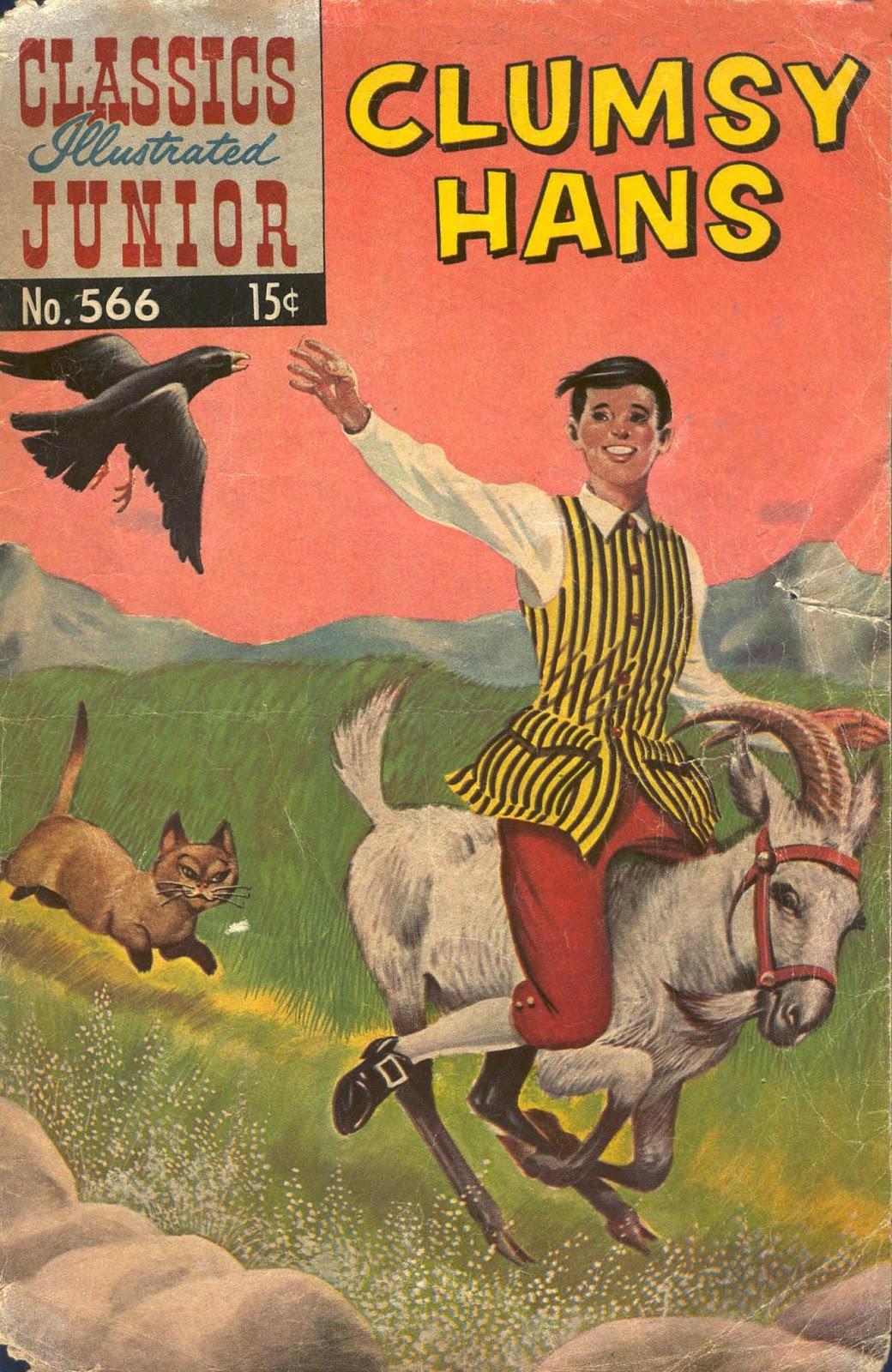 Classics Illustrated Junior issue 566 - Page 1