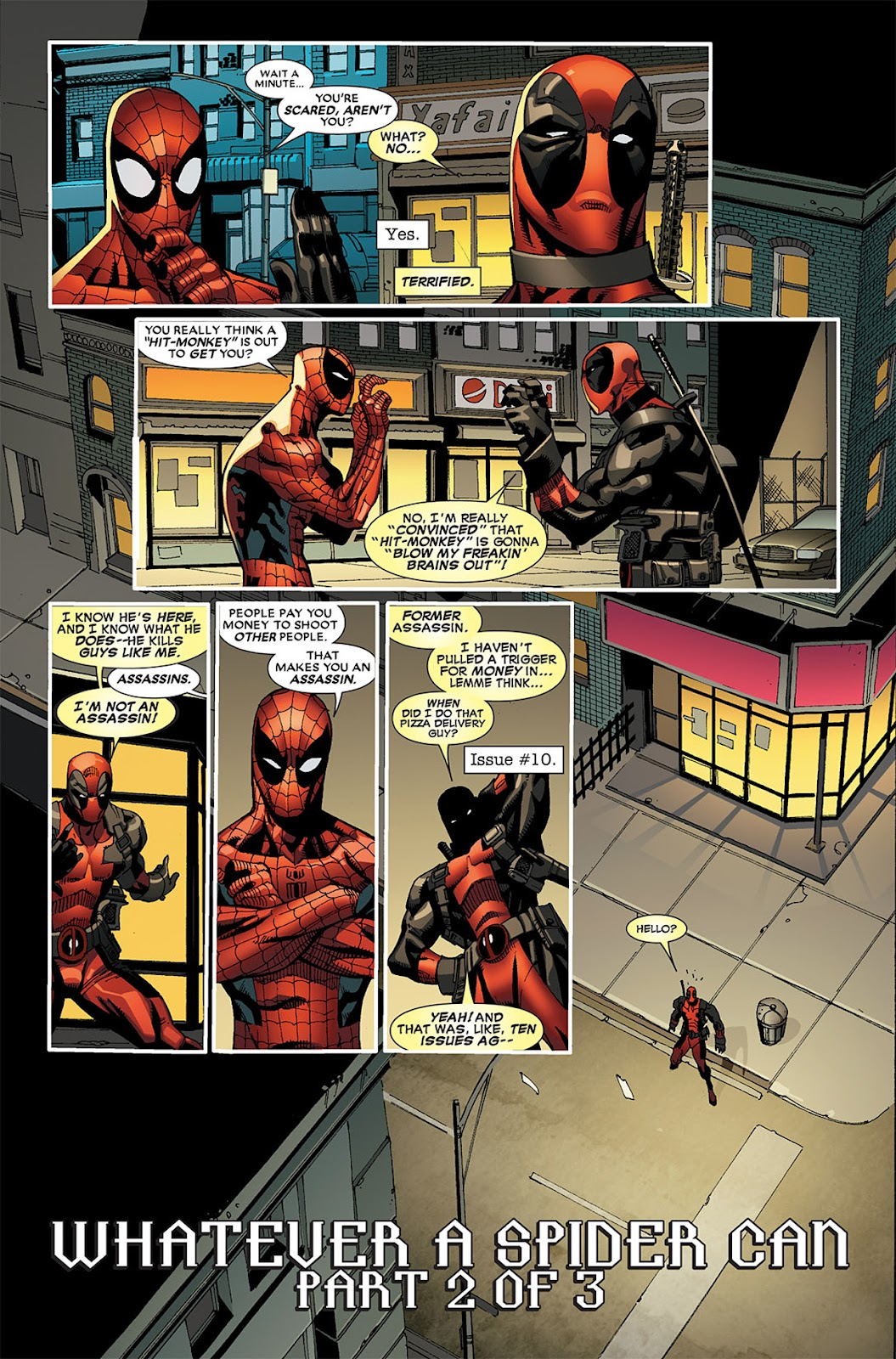 Read online Deadpool (2008) comic -  Issue #20 - 4