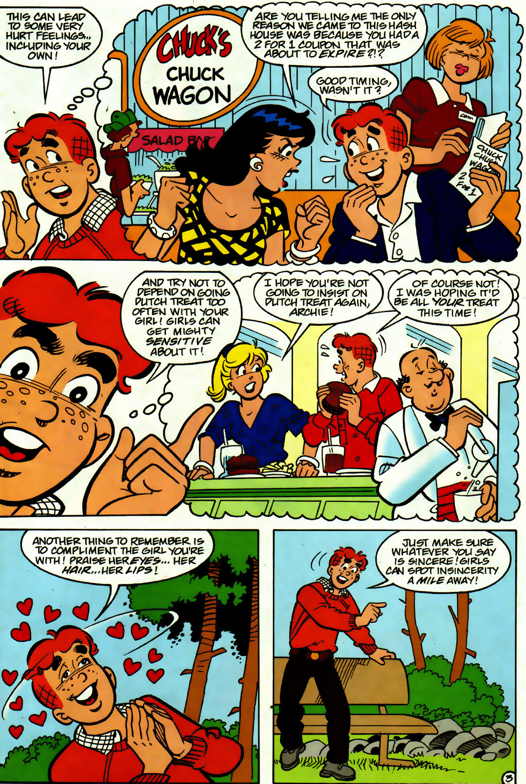 Read online Archie (1960) comic -  Issue #560 - 15