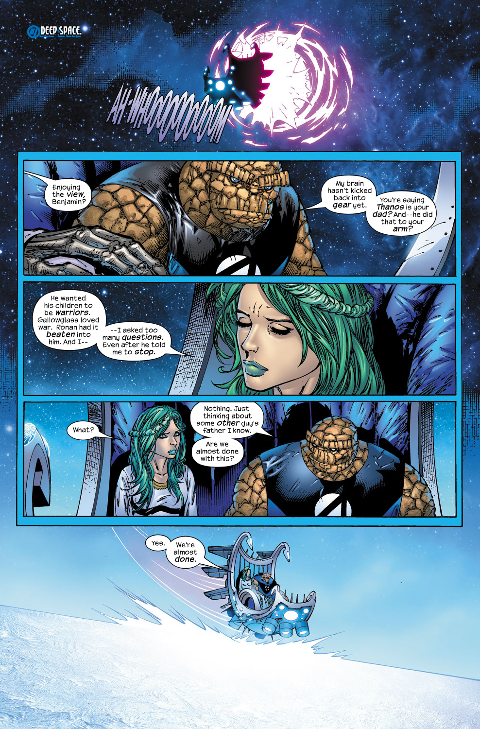 Read online Ultimate Fantastic Four (2004) comic -  Issue #52 - 13