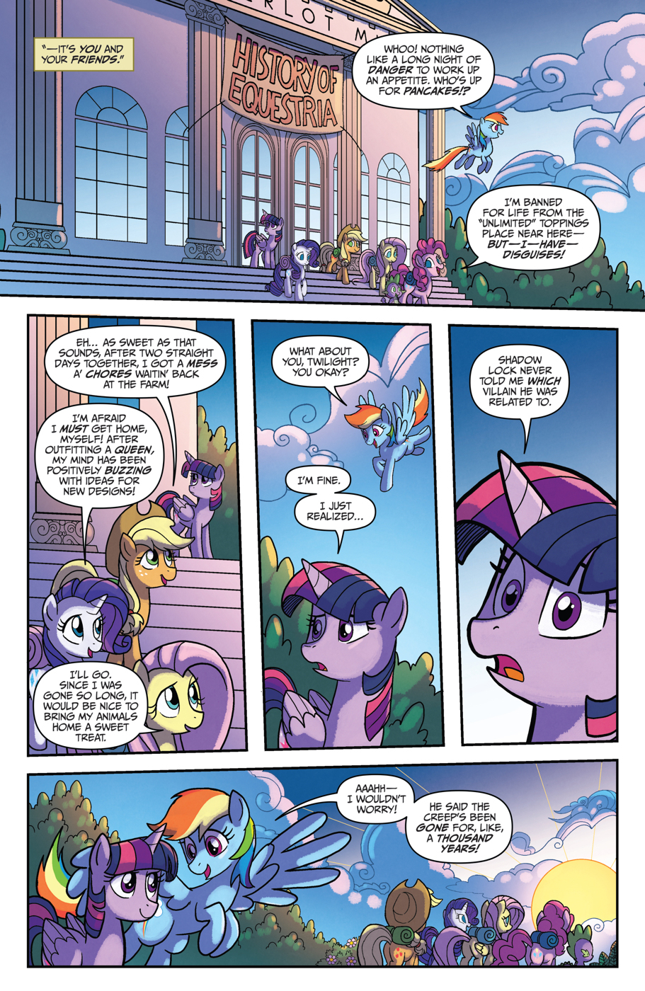 Read online My Little Pony: Friendship is Magic comic -  Issue #53 - 21