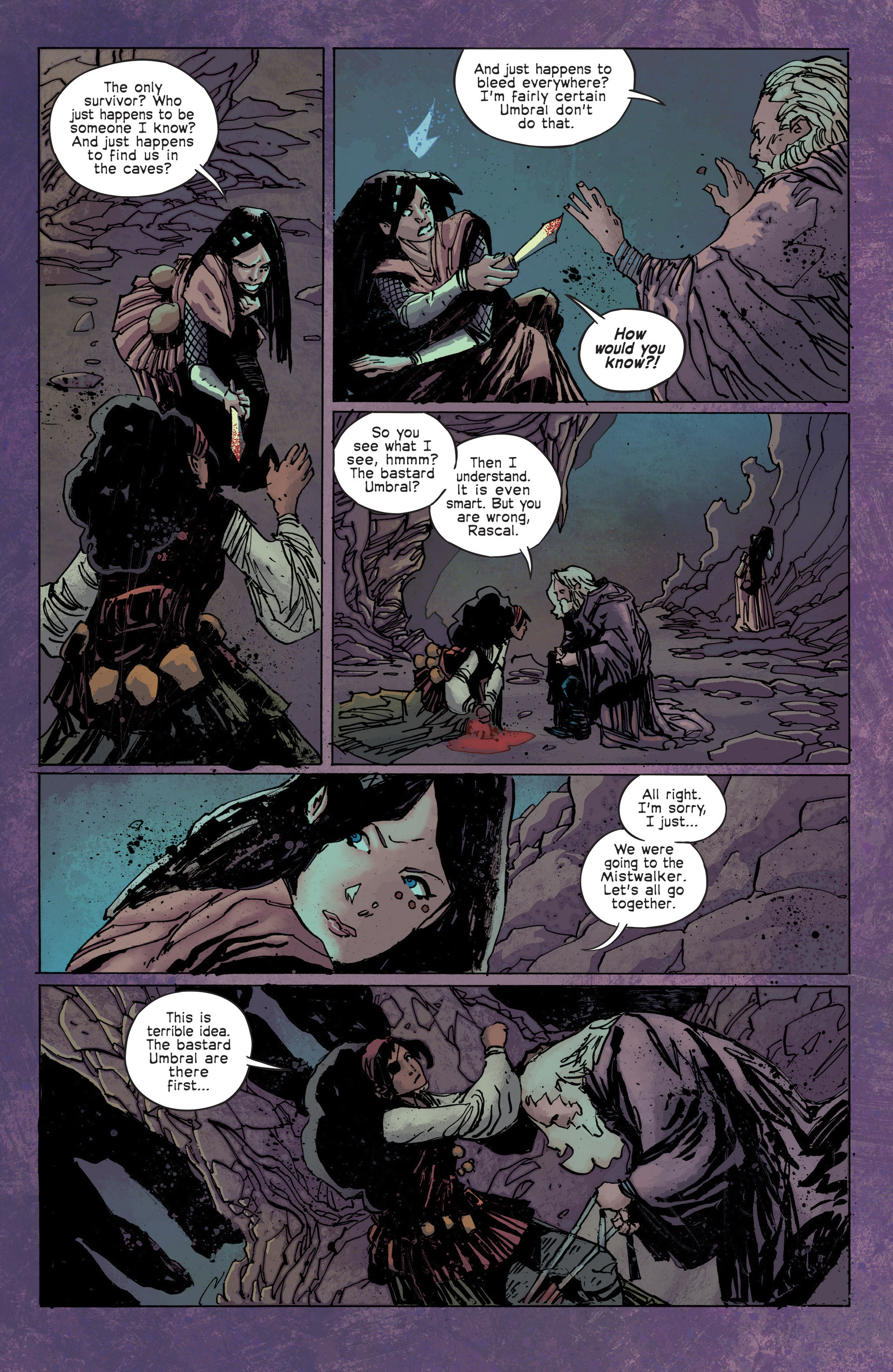 Read online Umbral comic -  Issue #3 - 18
