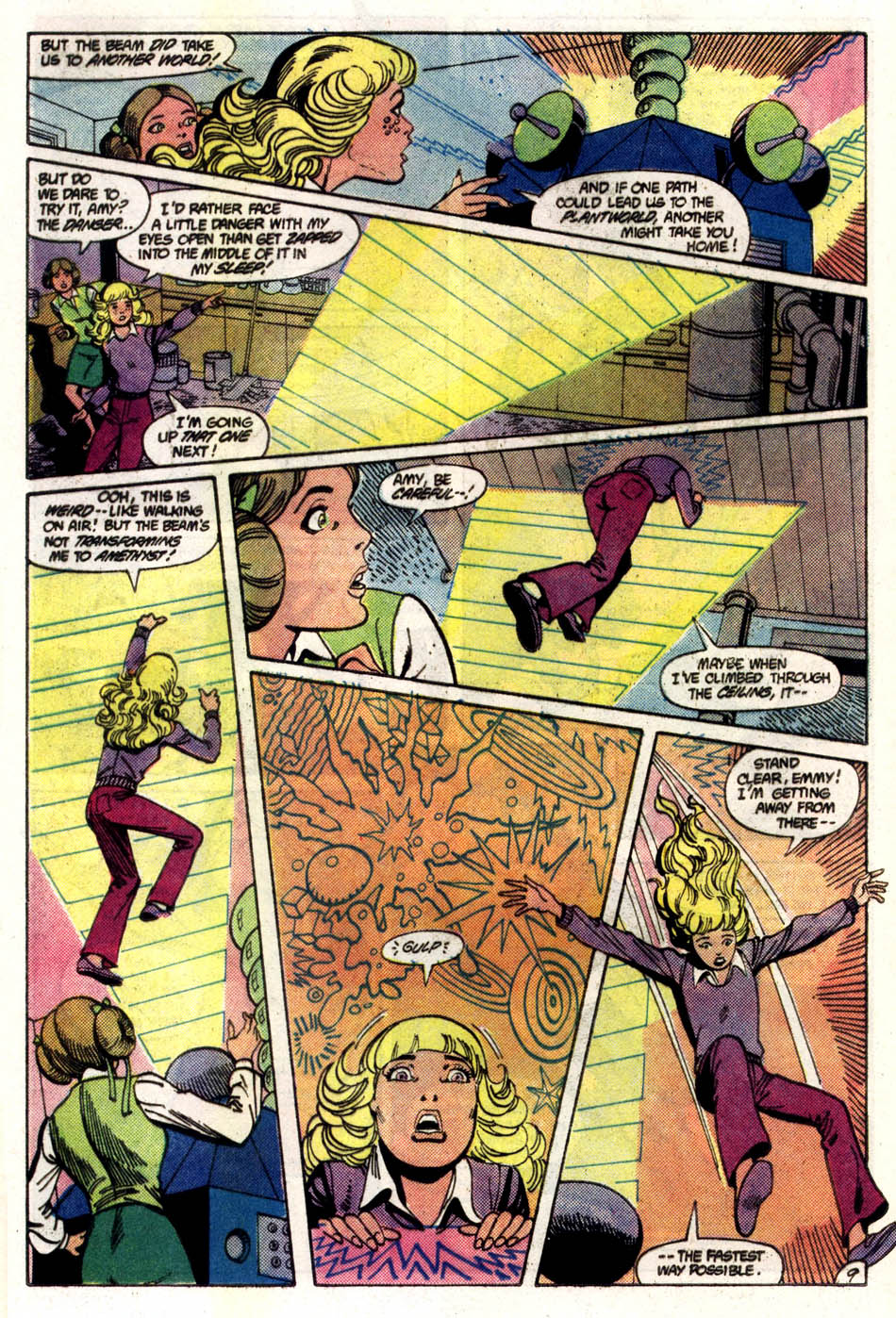 Read online Amethyst (1985) comic -  Issue #5 - 10