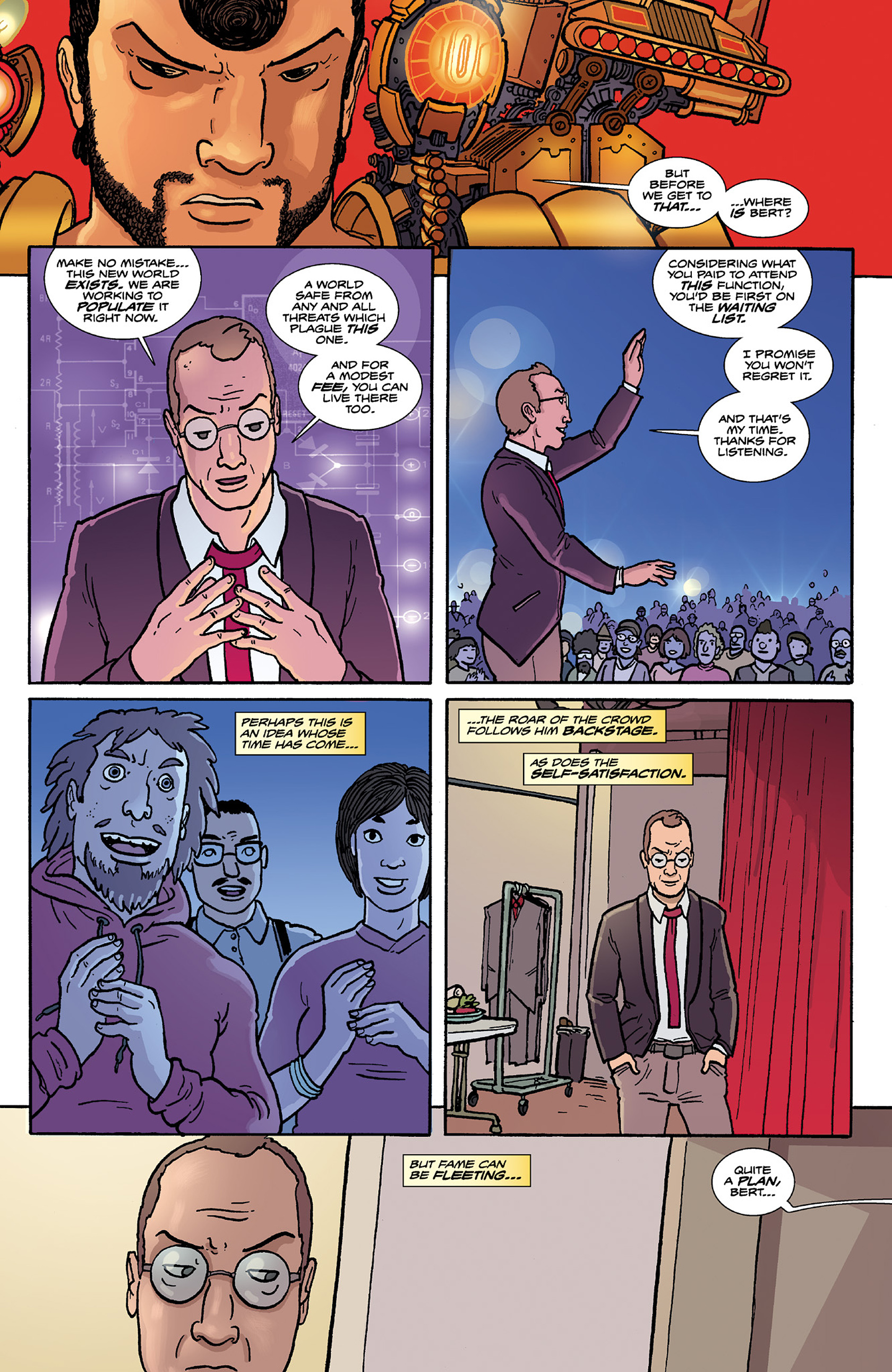 Read online Catalyst Comix comic -  Issue #9 - 11