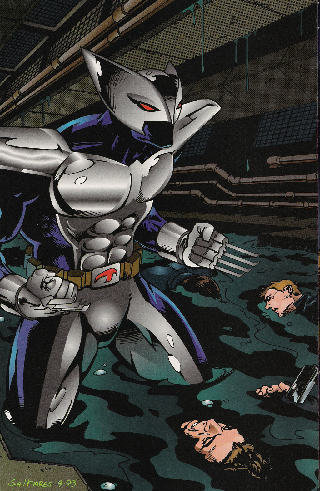 Read online ShadowHawk Gallery comic -  Issue # Full - 21