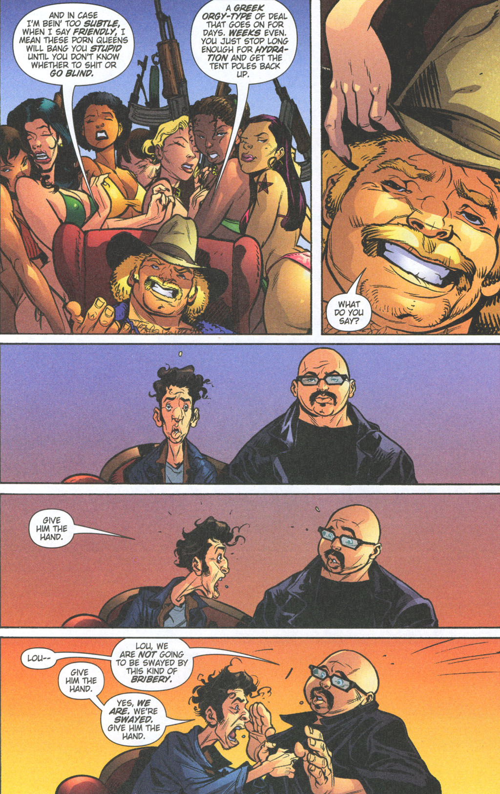 Read online Caper comic -  Issue #11 - 16