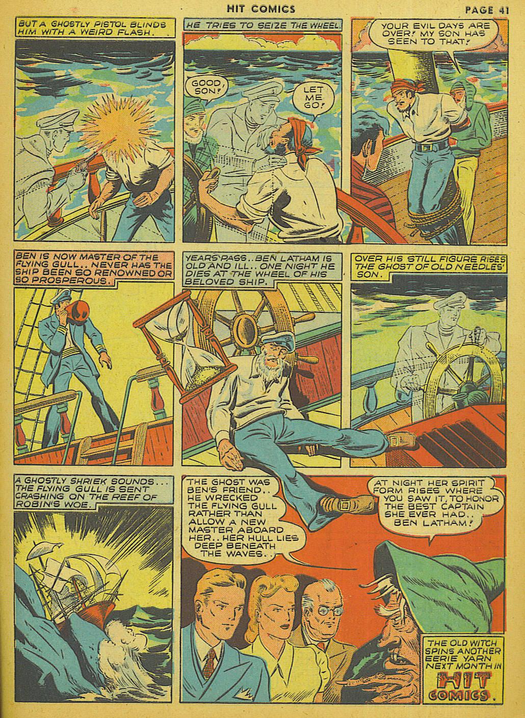 Read online Hit Comics comic -  Issue #13 - 43