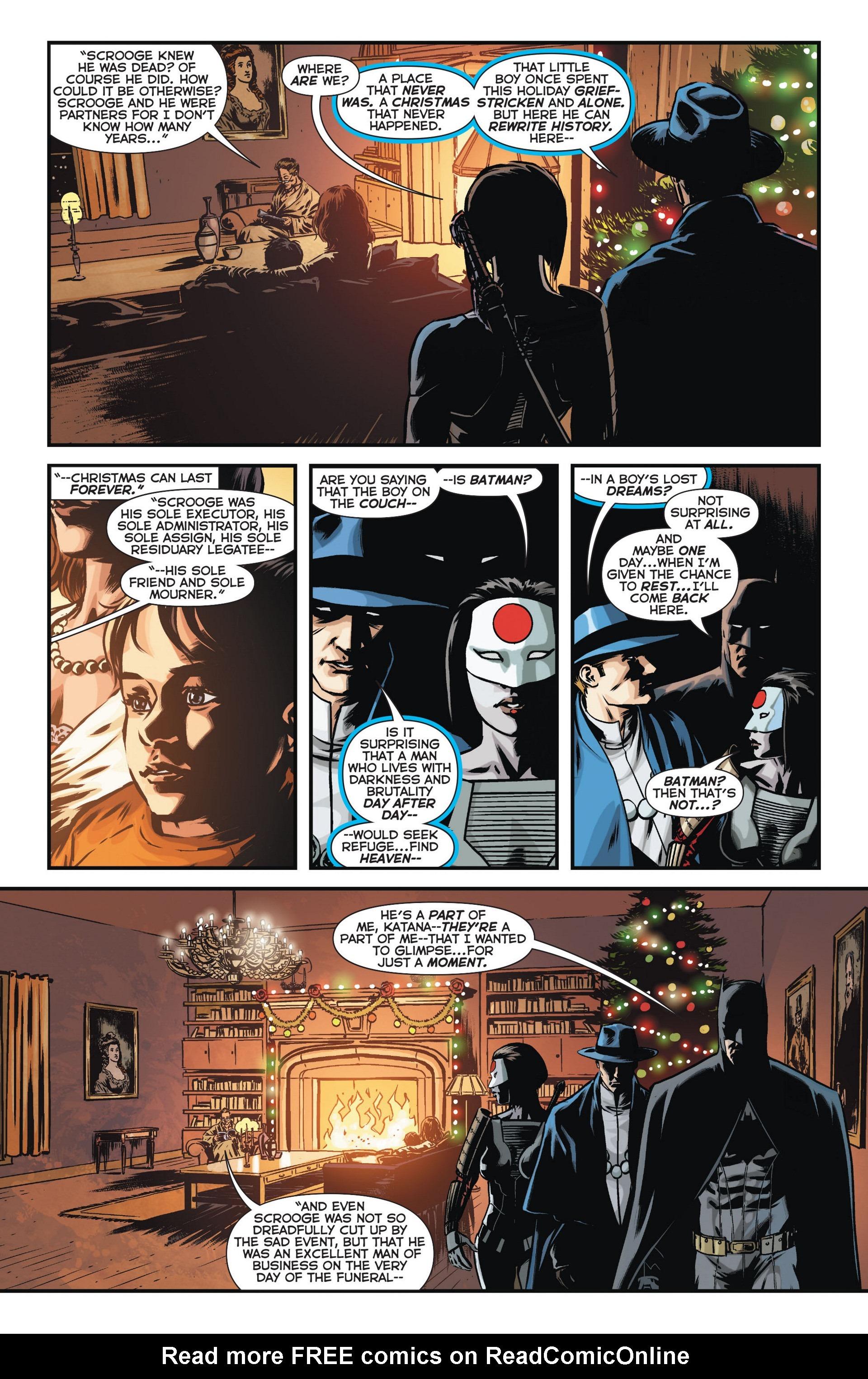 Read online Trinity of Sin: The Phantom Stranger comic -  Issue #11 - 14