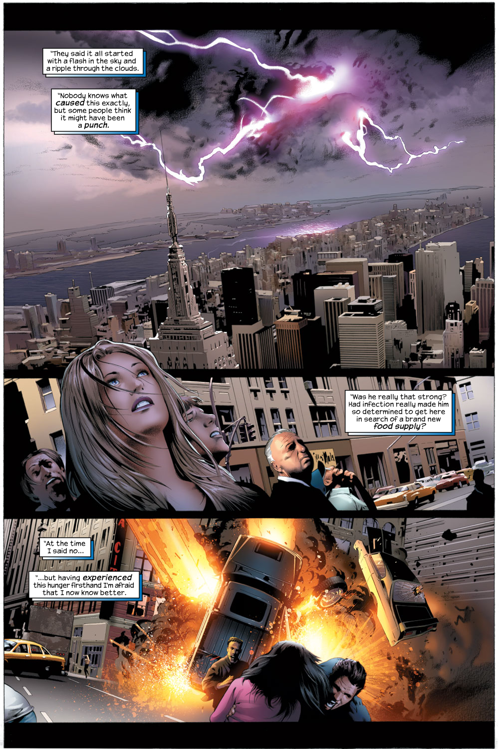 Read online Ultimate Fantastic Four (2004) comic -  Issue #22 - 2
