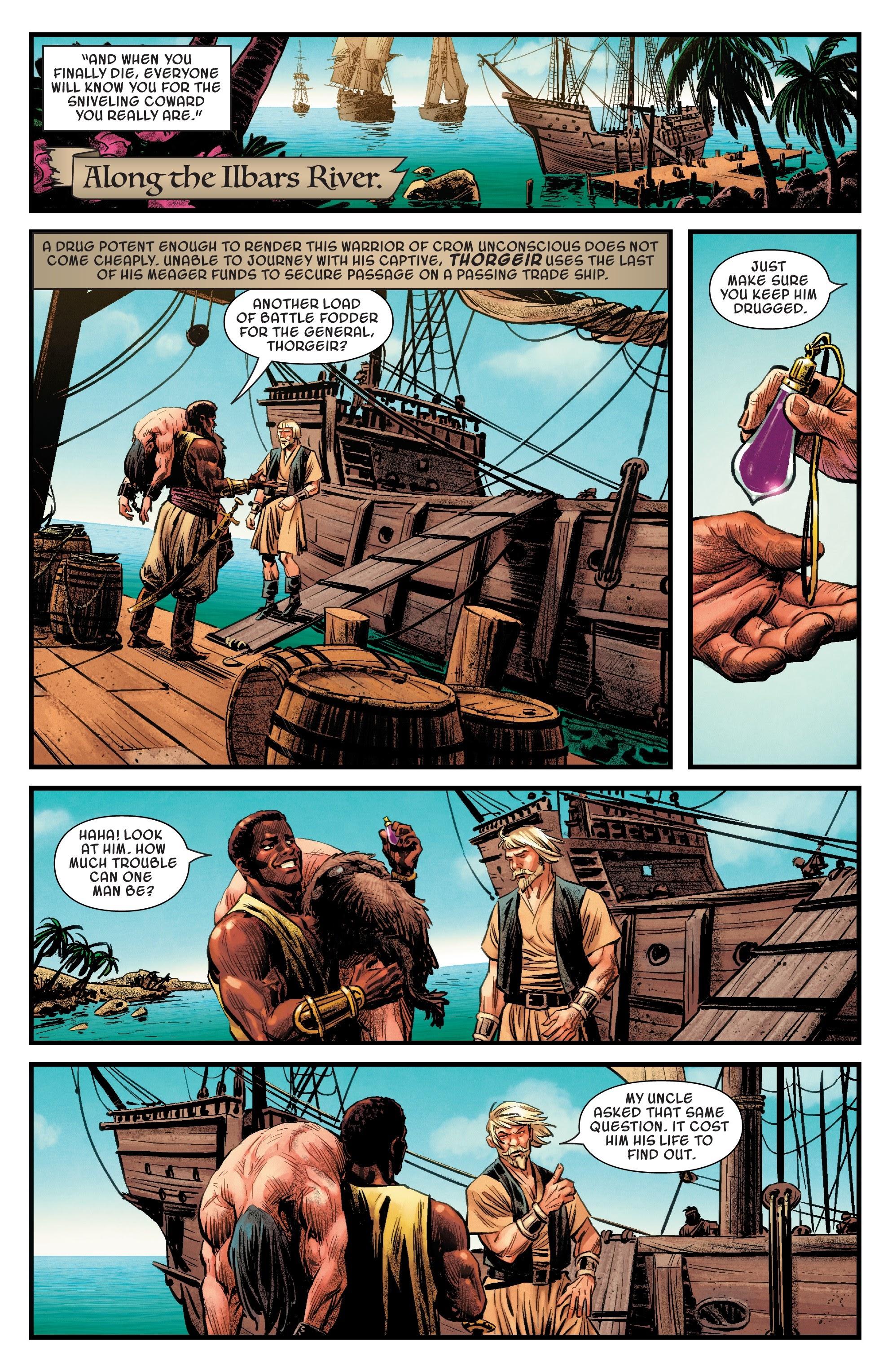 Read online Savage Sword of Conan comic -  Issue #6 - 8