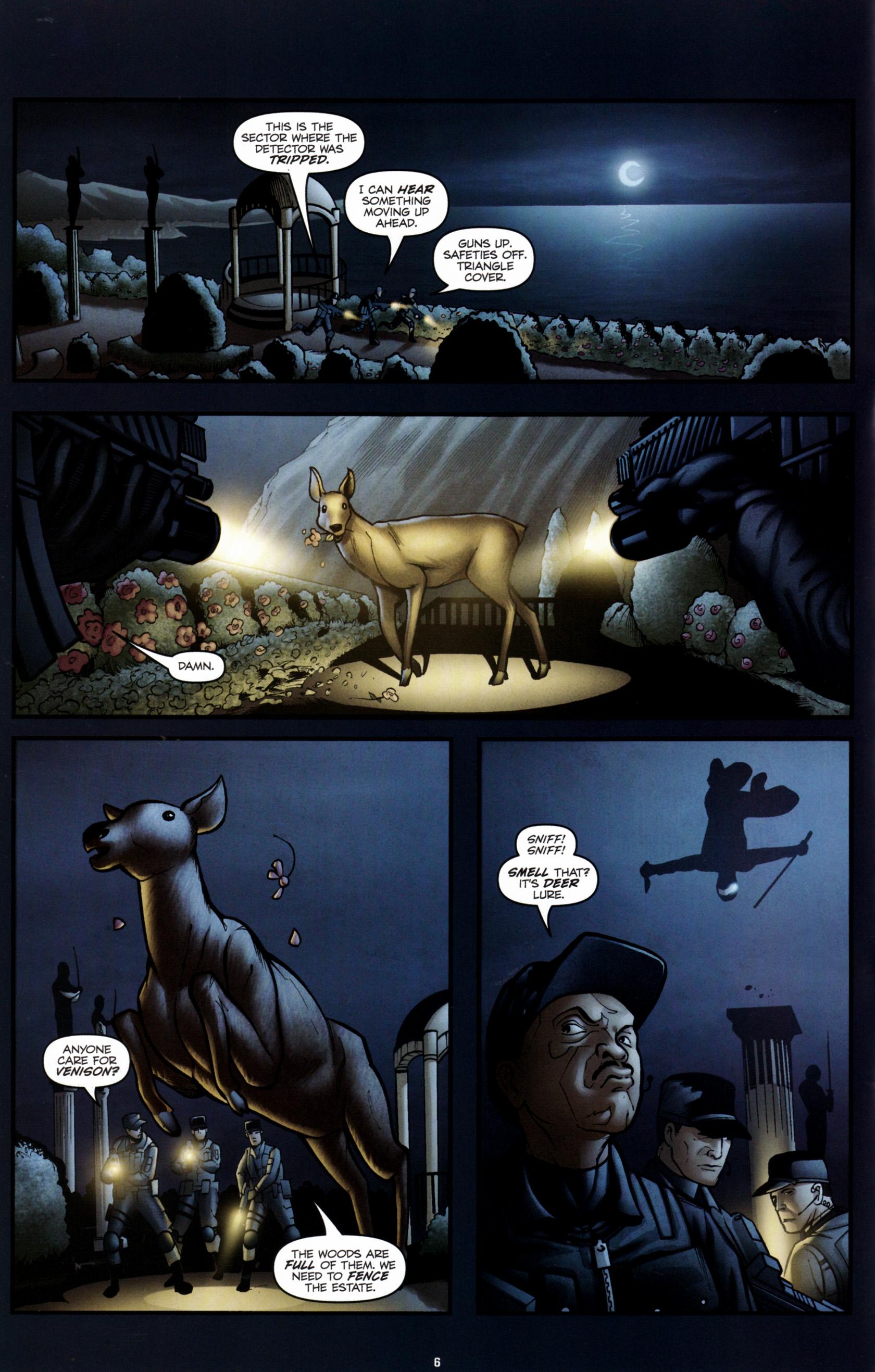 Read online G.I. Joe: Snake Eyes comic -  Issue #6 - 9
