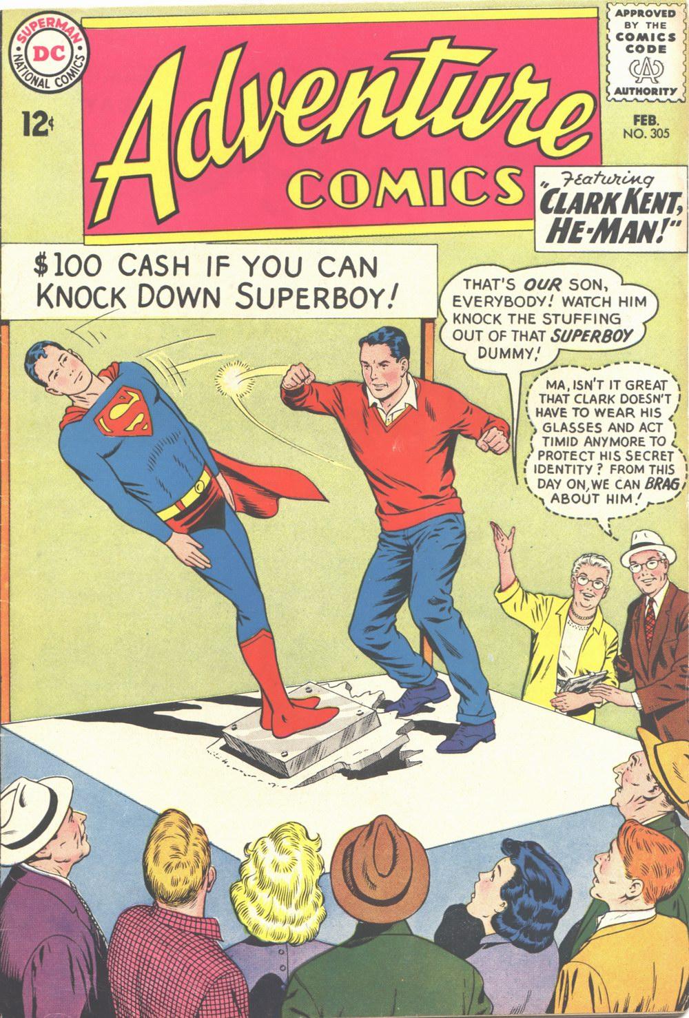 Read online Adventure Comics (1938) comic -  Issue #305 - 1