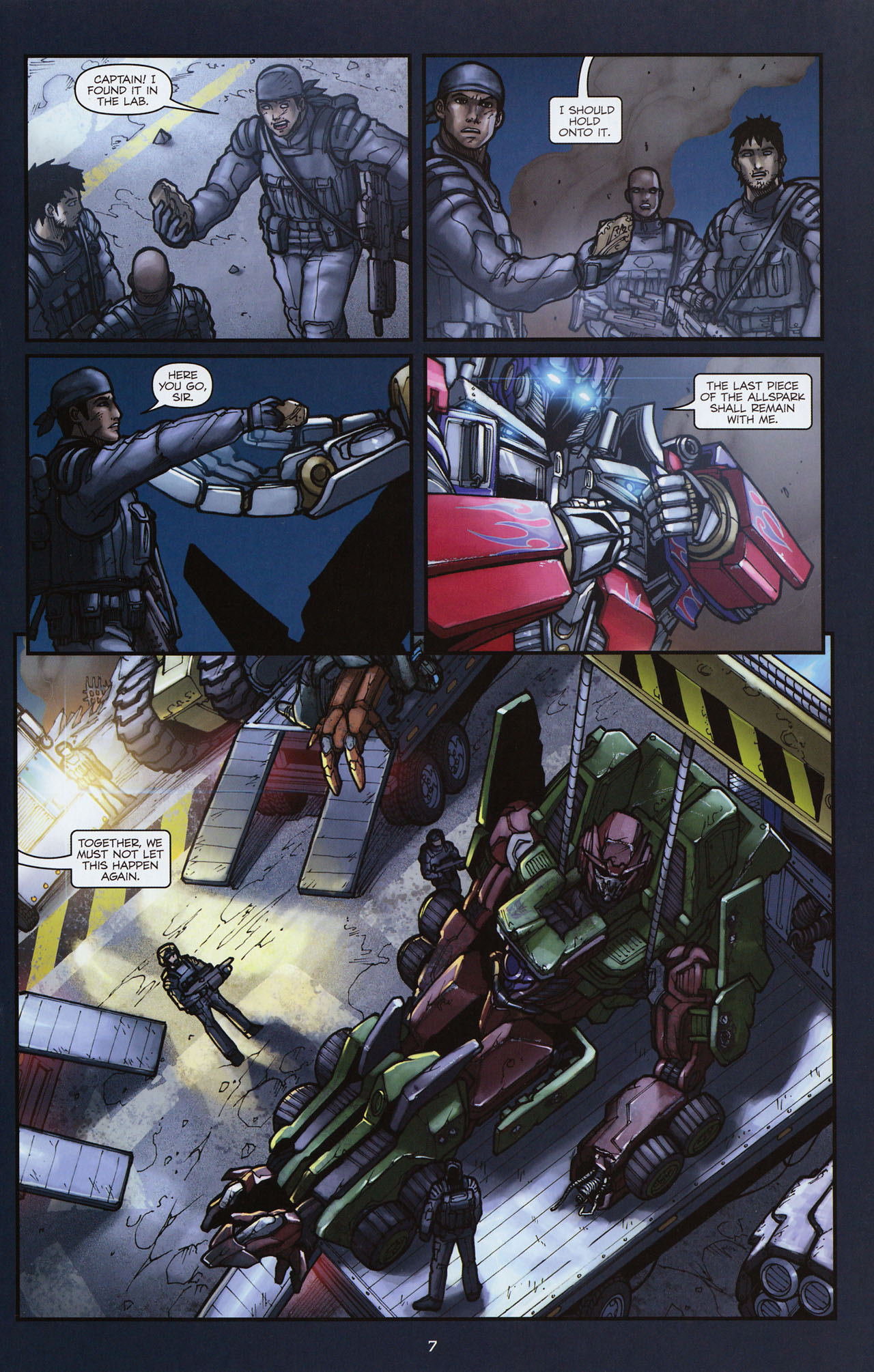 Read online Transformers: Alliance comic -  Issue #3 - 10