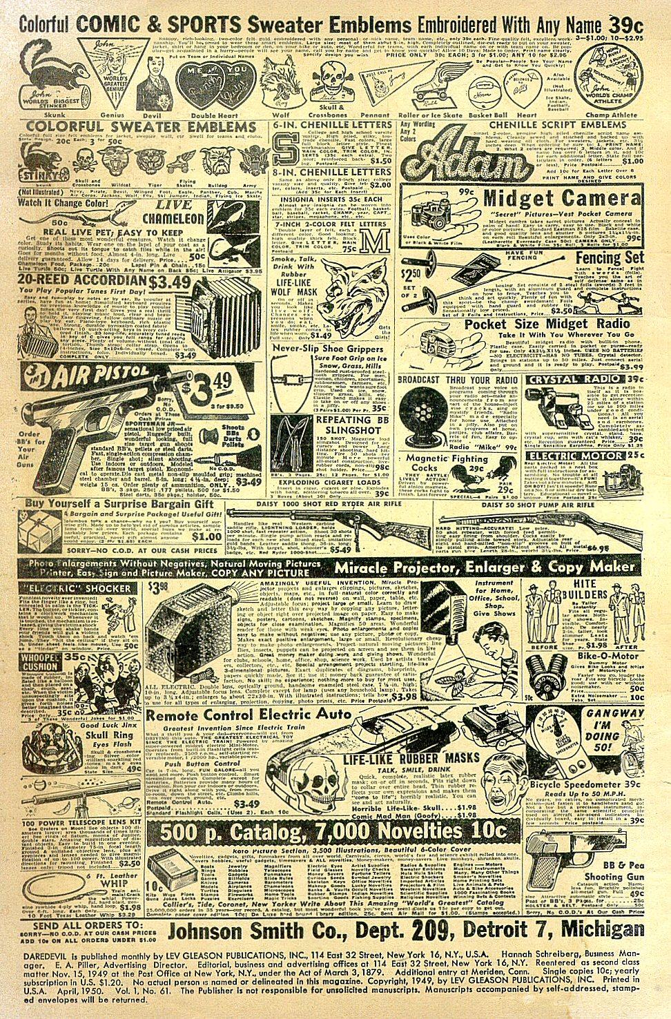 Daredevil (1941) issue 61 - Page 2