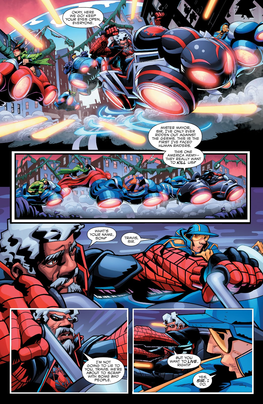 Read online Miles Morales: The End comic -  Issue # Full - 11