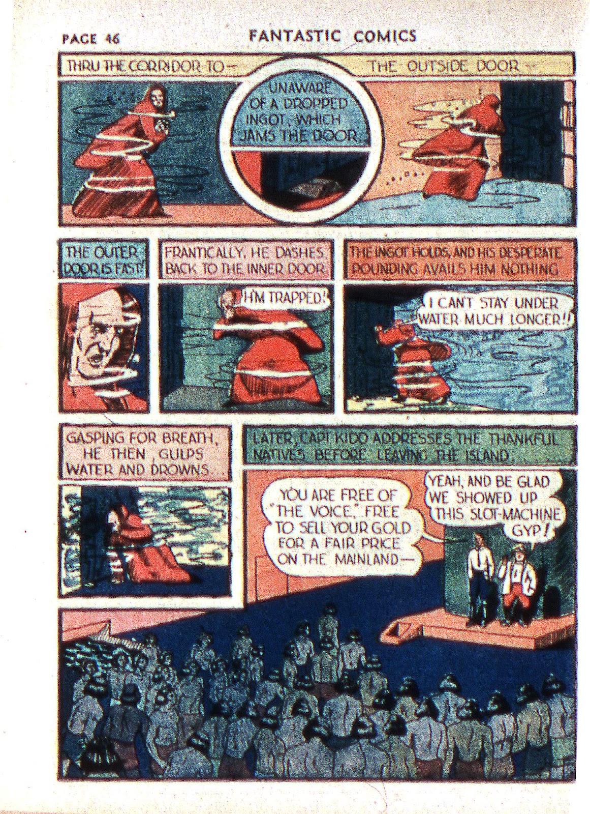 Read online Fantastic Comics comic -  Issue #2 - 47