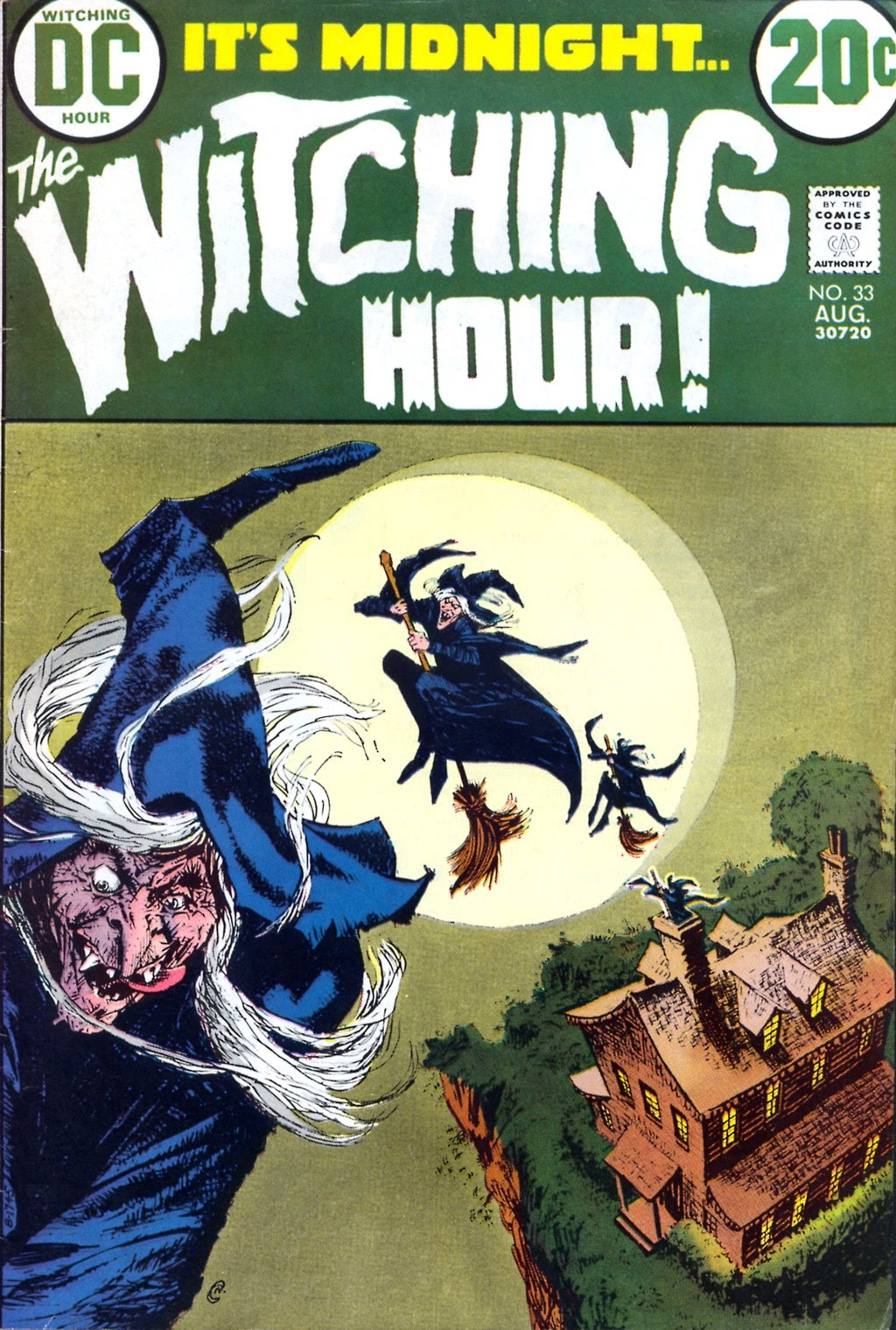 The Witching Hour (1969) issue 33 - Page 1