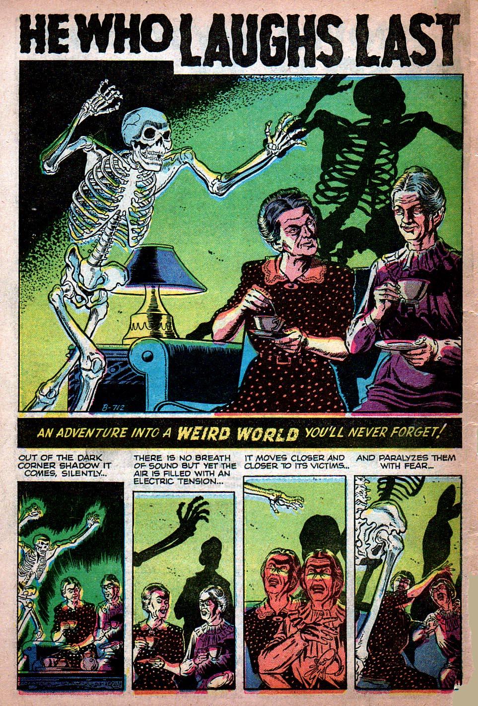 Read online Adventures into Weird Worlds comic -  Issue #15 - 9