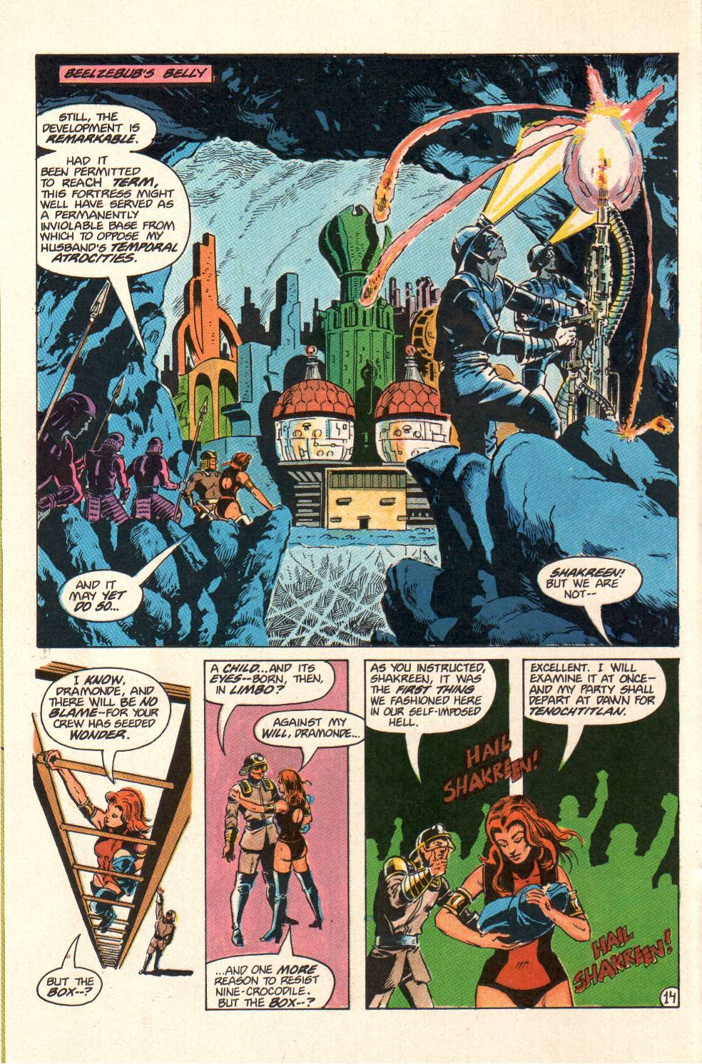 Read online Aztec Ace comic -  Issue #10 - 12