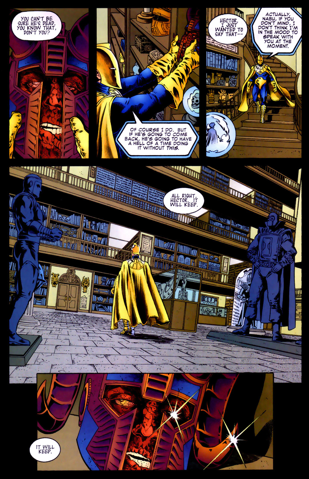 Read online Doctor Fate (2003) comic -  Issue #5 - 21