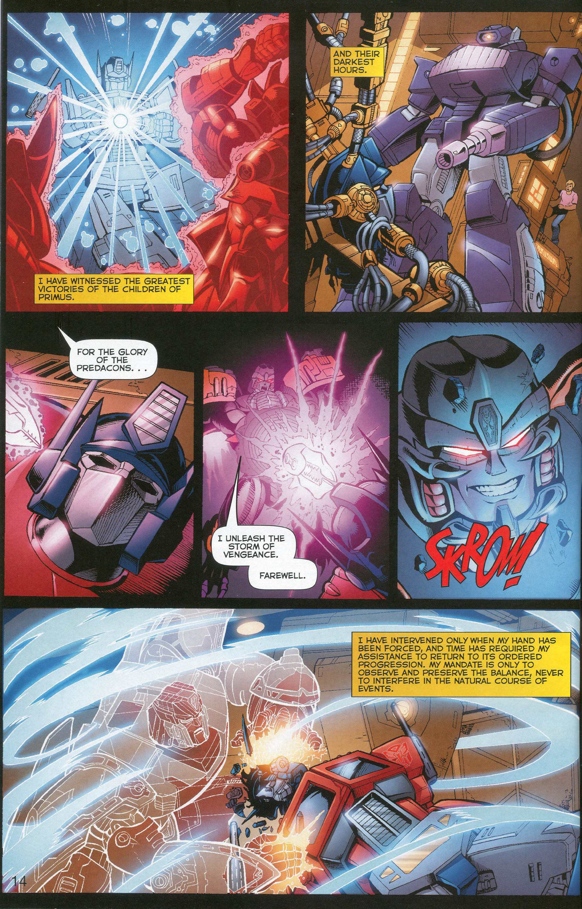 Read online Transformers: Collectors' Club comic -  Issue #1 - 14