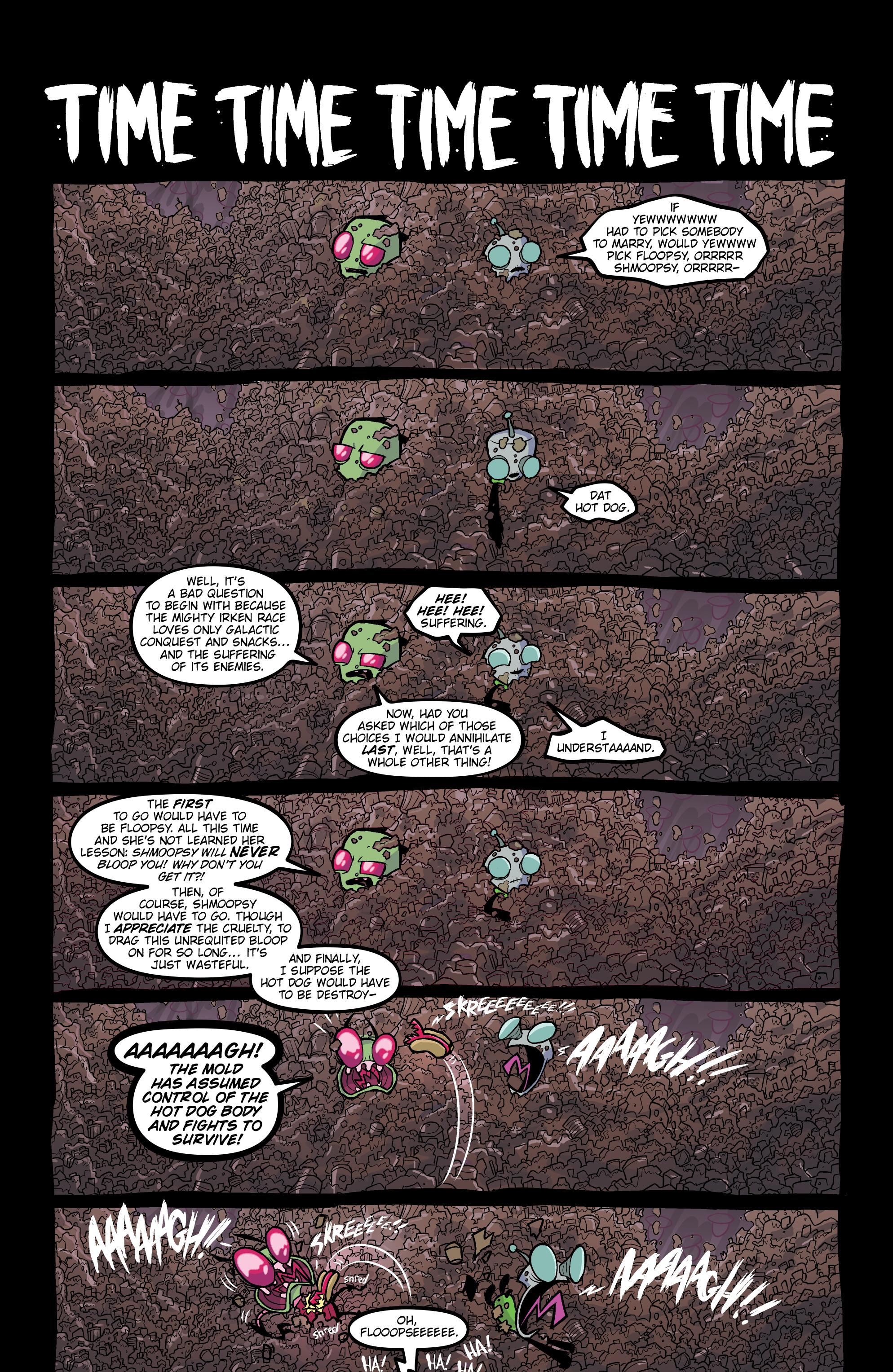 Read online Invader Zim comic -  Issue #20 - 22